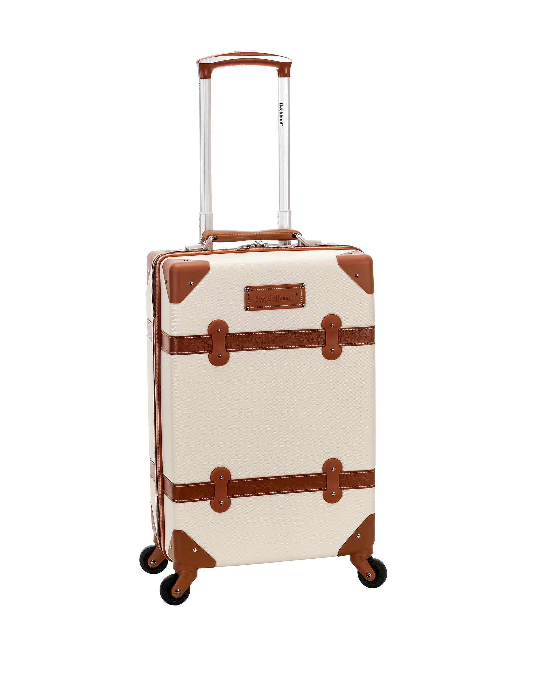 Rockland White Upright Spinners