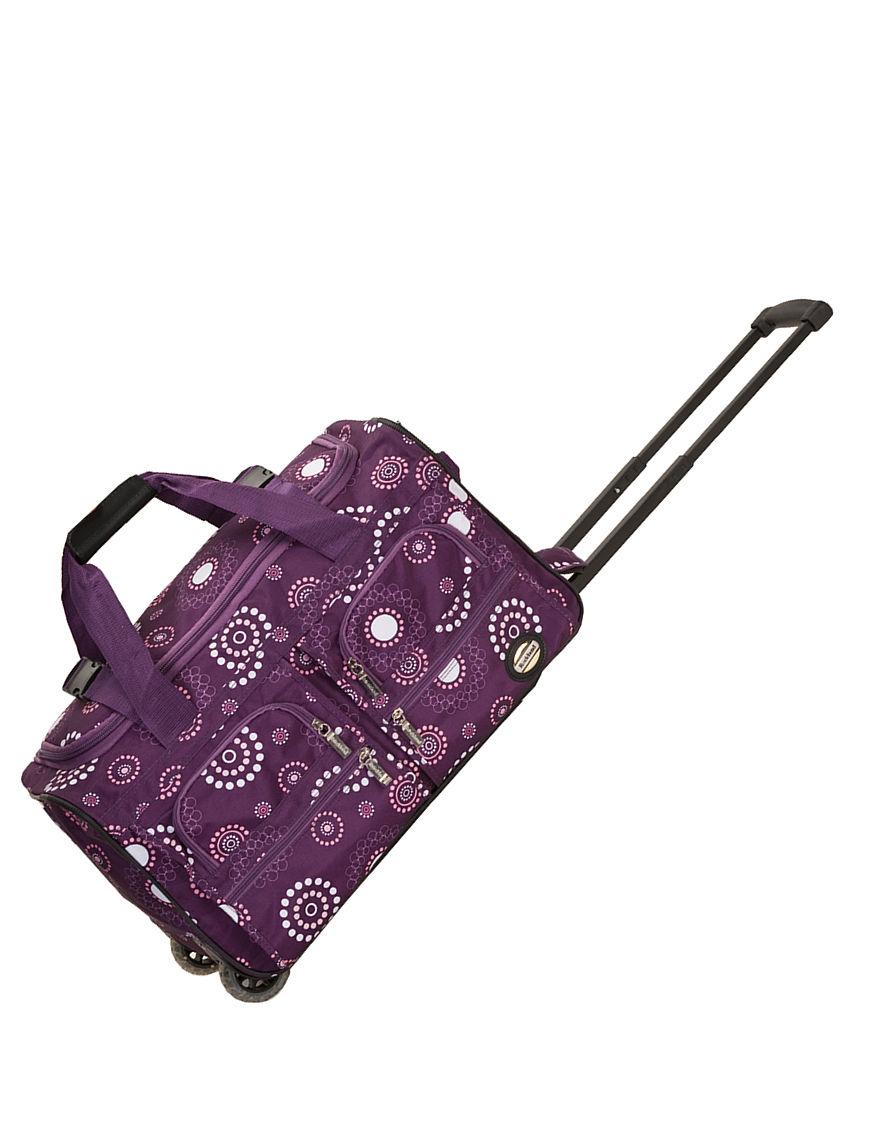 Rockland Purple Duffle Bags