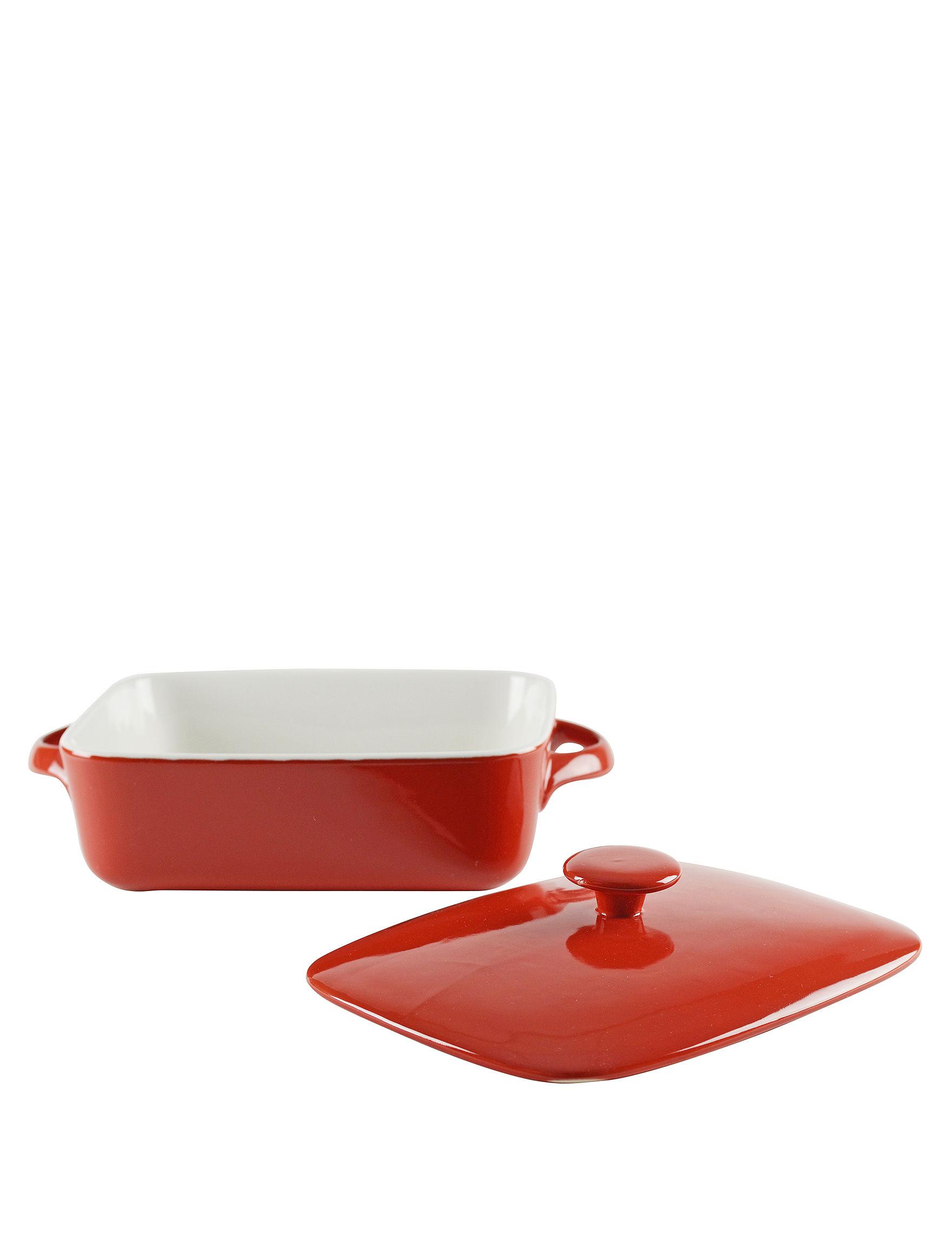 10 Strawberry Street Orange Baking & Casserole Dishes Cookware