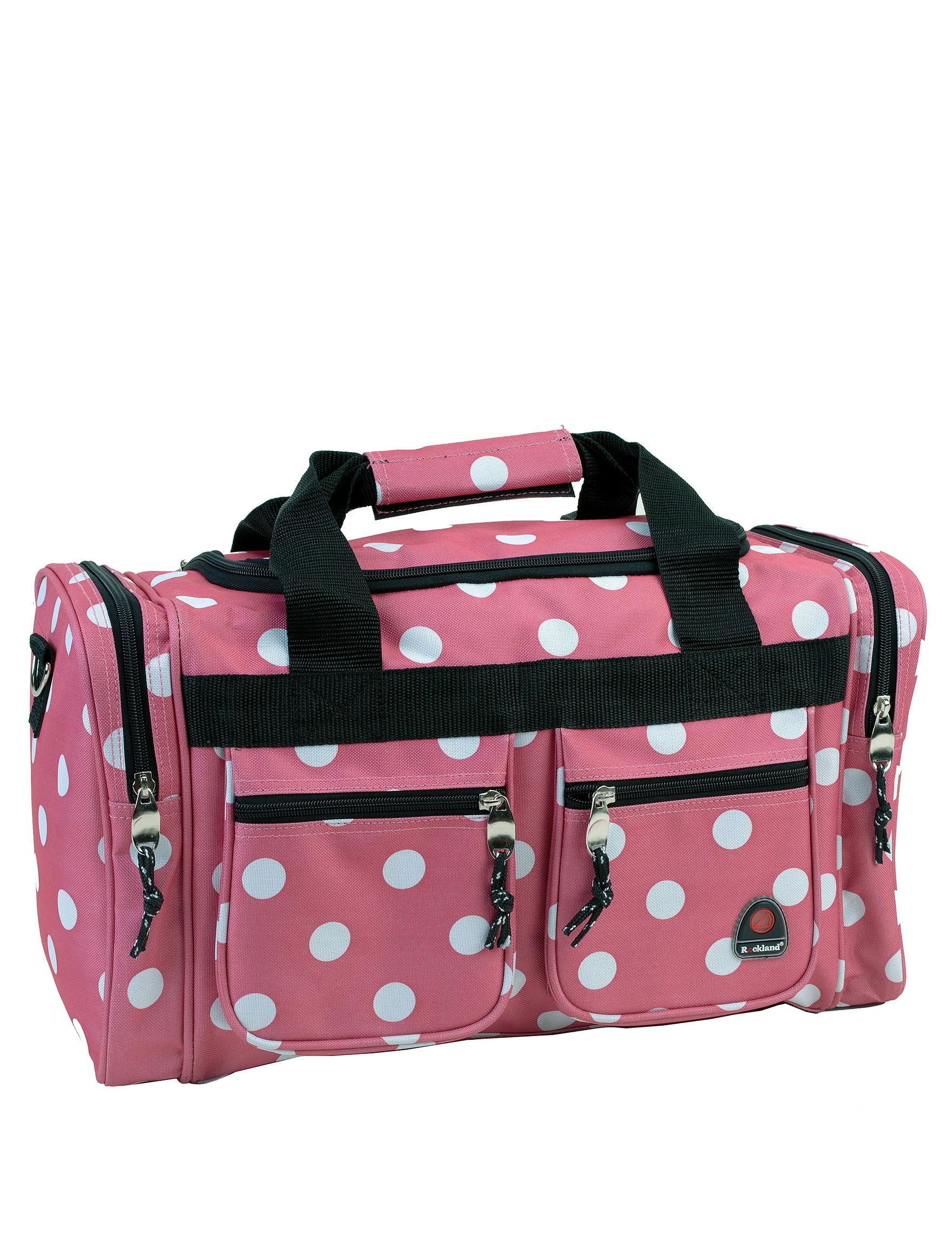 Rockland Pink Weekend Bags