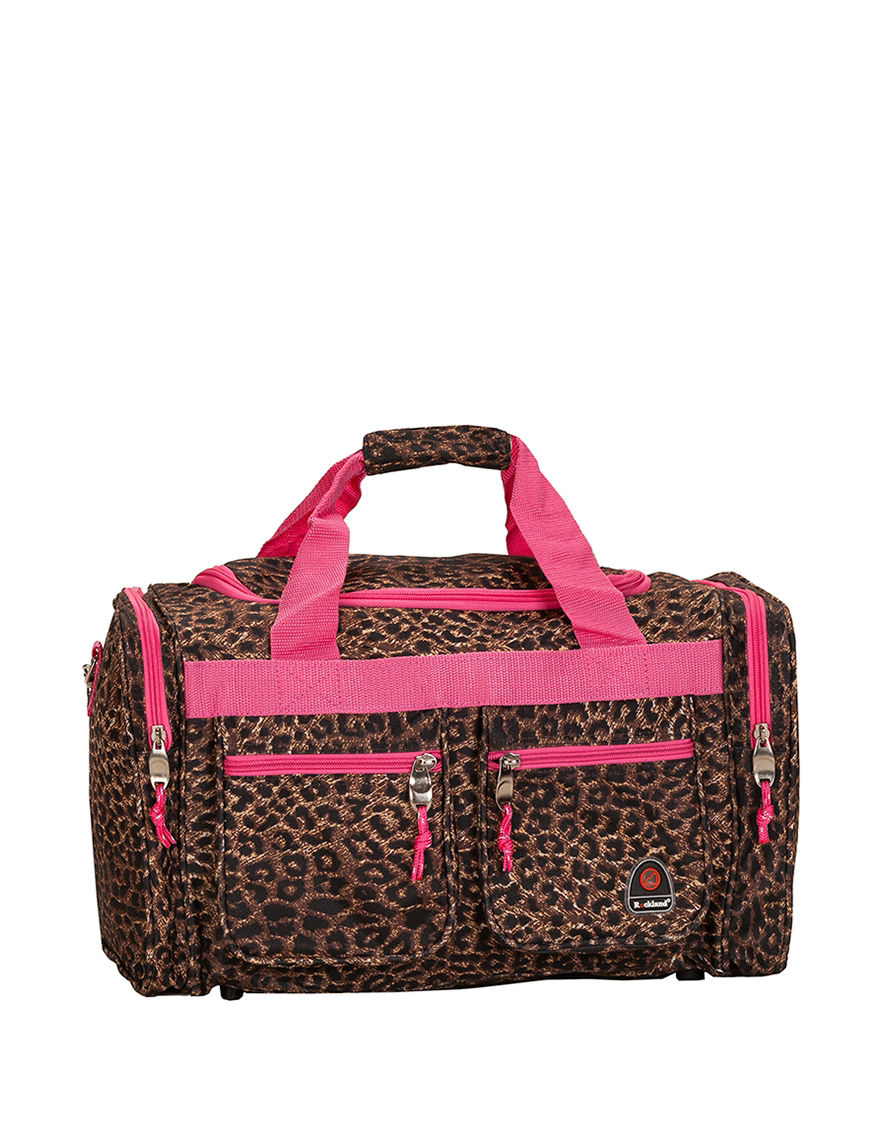 Rockland Leopard Weekend Bags