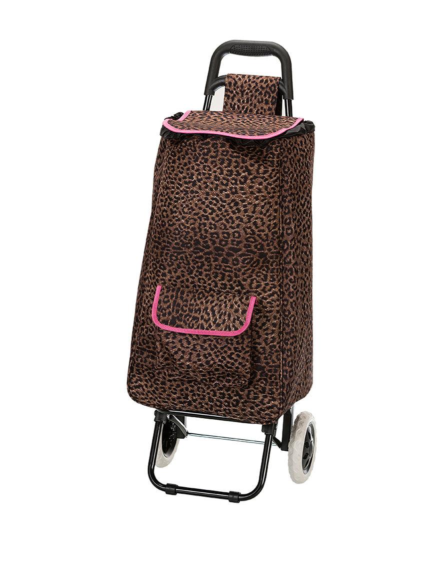 Rockland Leopard Weekend Bags