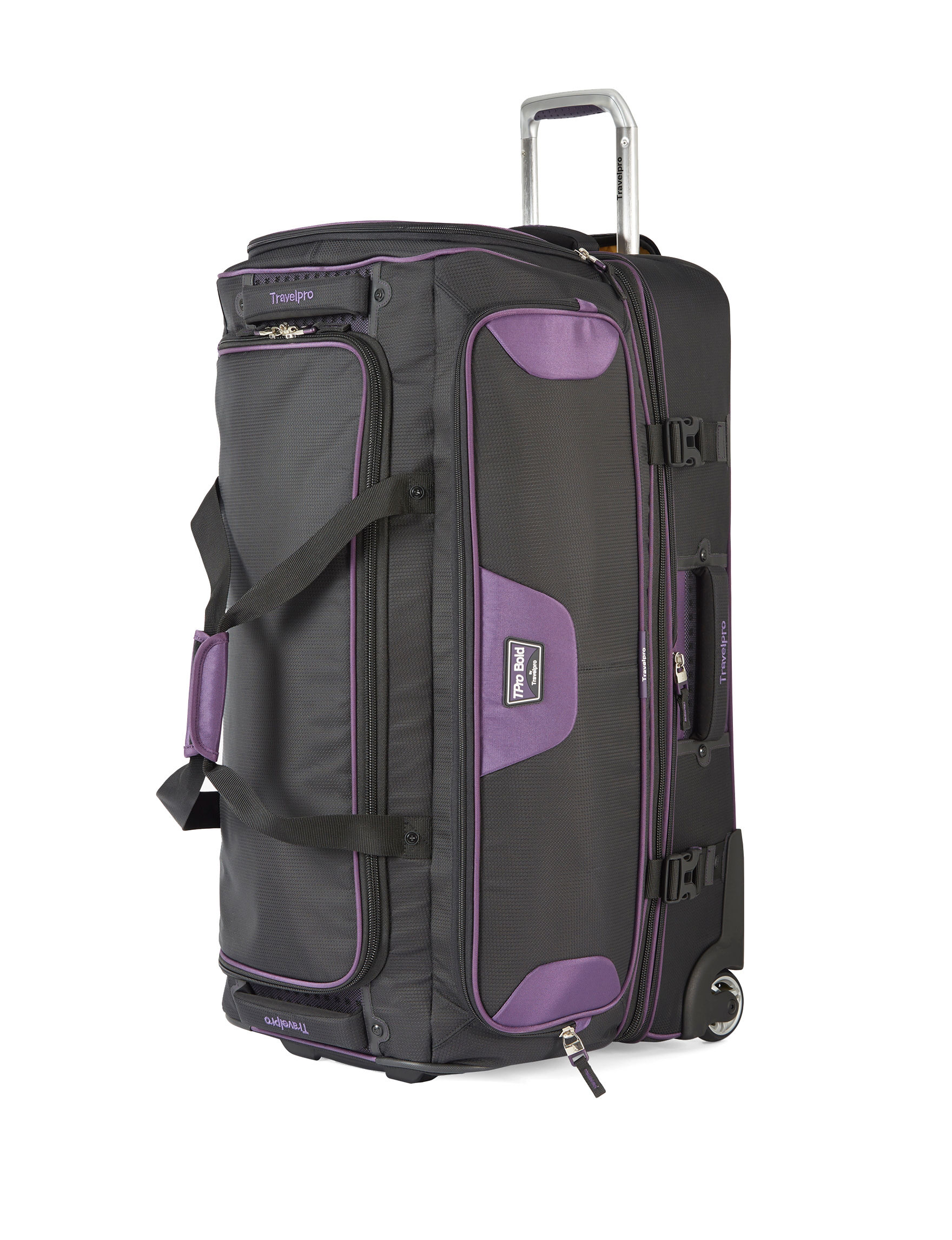 Travelpro Black/ Purple Duffle Bags