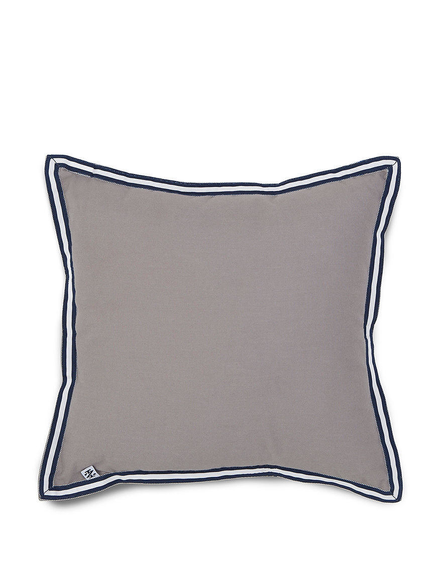 Izod Grey Decorative Pillows