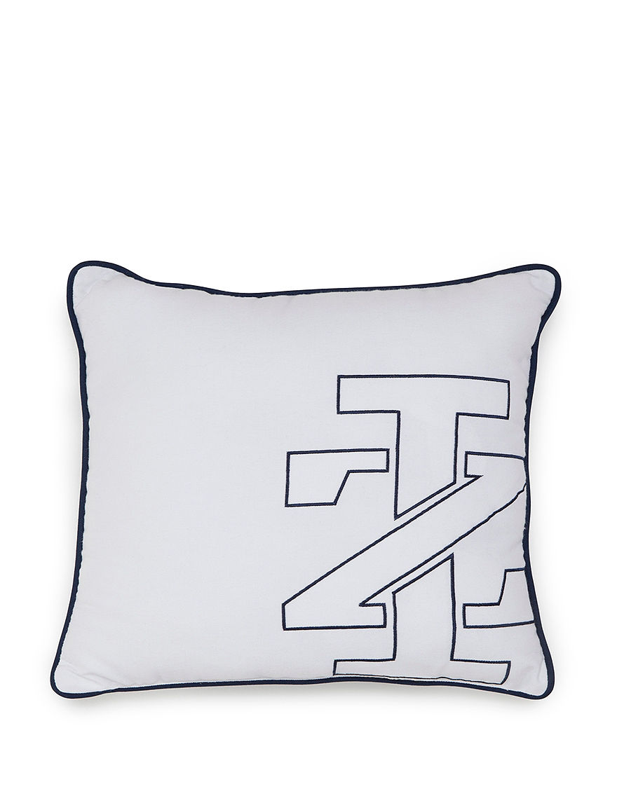 Izod White Decorative Pillows
