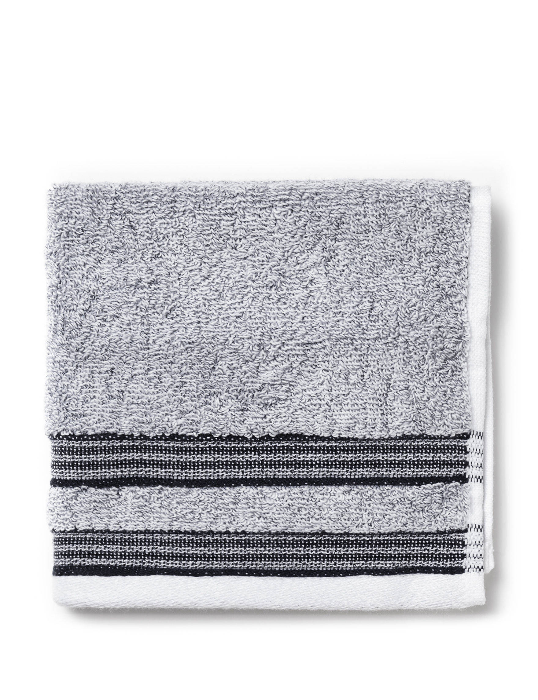 Izod Dark Grey Washcloths Towels