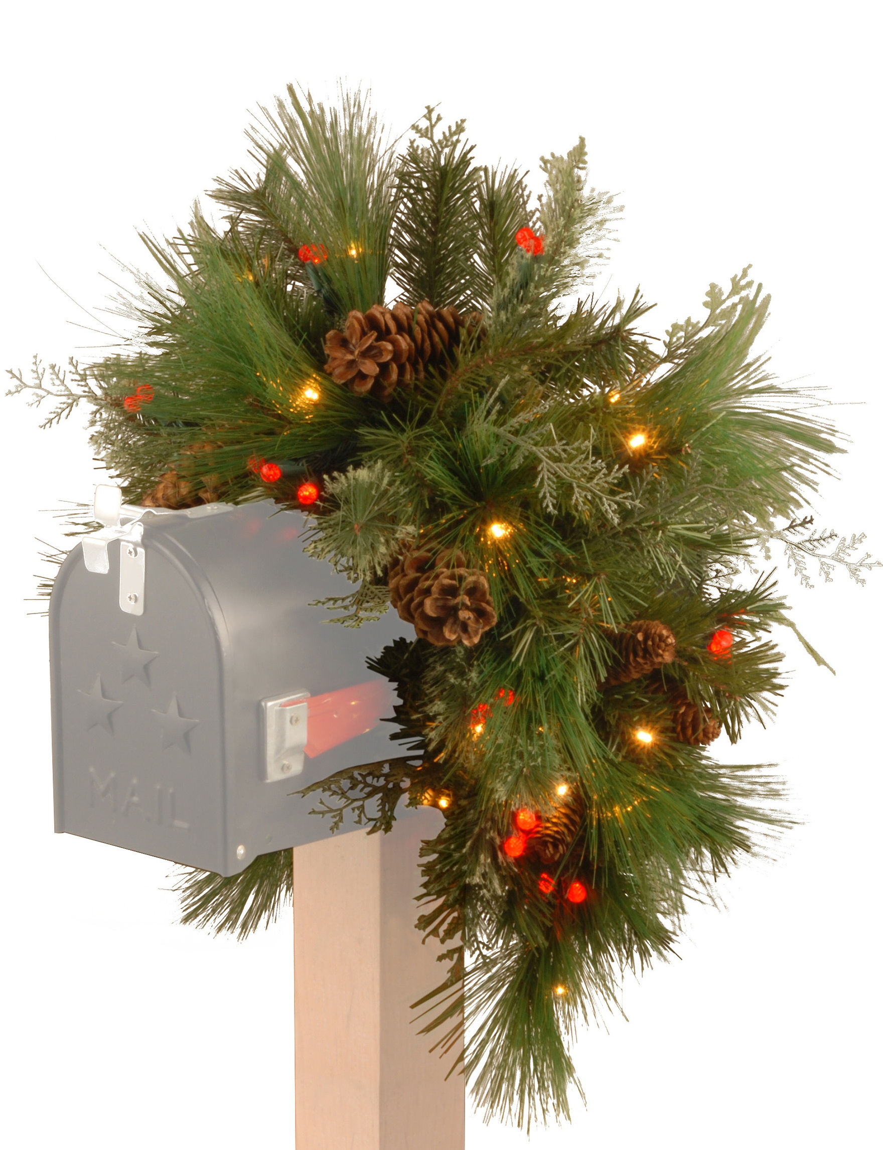 National Tree Company Green Outdoor Holiday Decor Holiday Decor