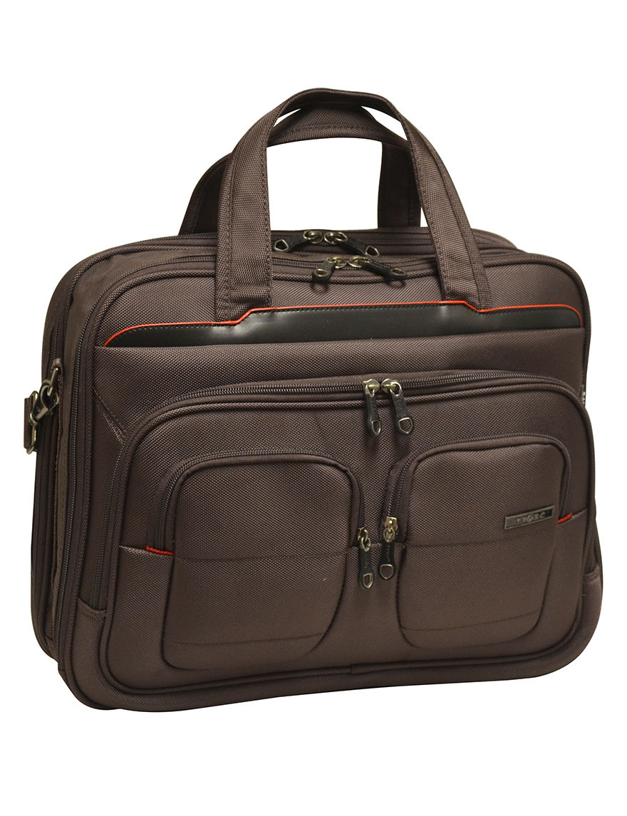 TPRC Brown Briefcases