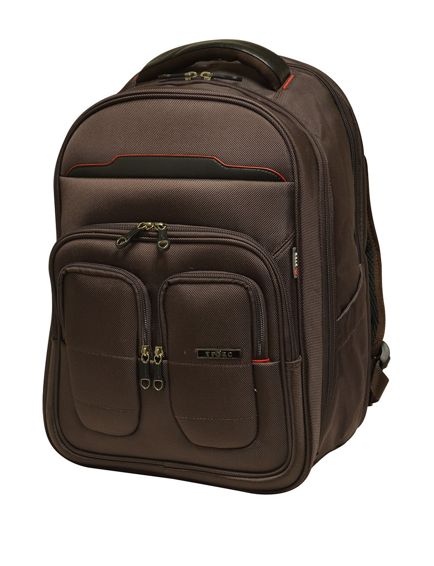 TPRC Brown Bookbags & Backpacks