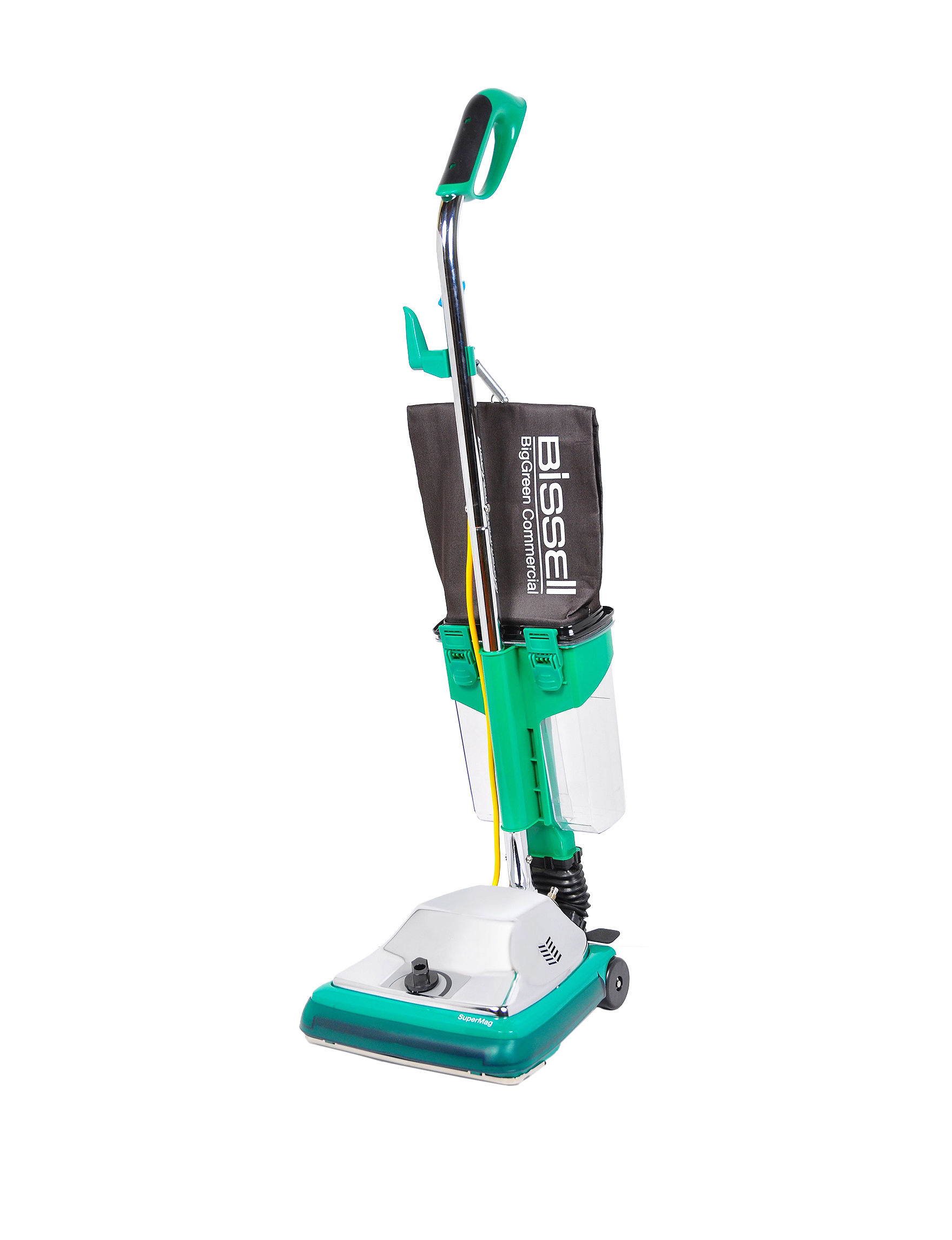 bissell big green commercial 16 inch procup upright vacuum s