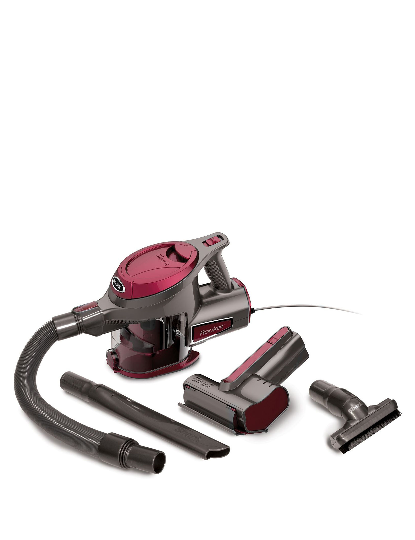 Shark Grey / Red Vacuums & Floor Care