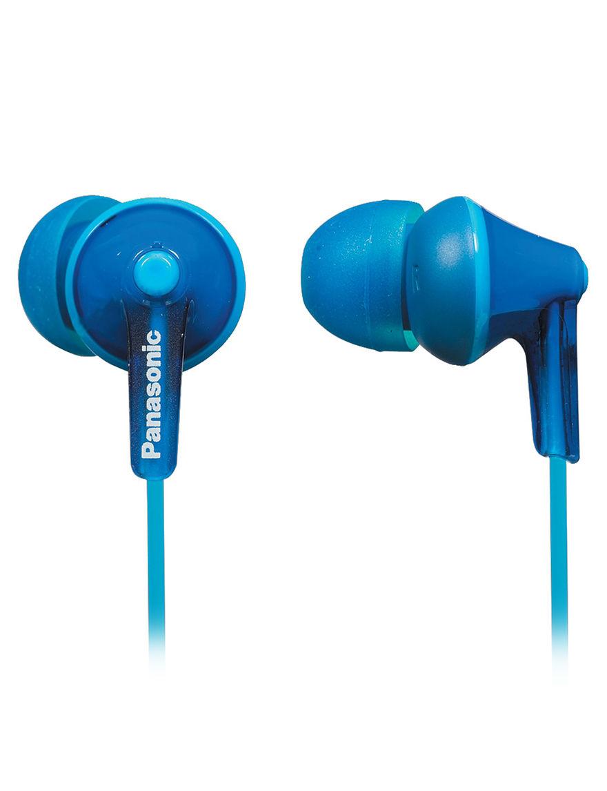 Panasonic Blue Headphones Home & Portable Audio