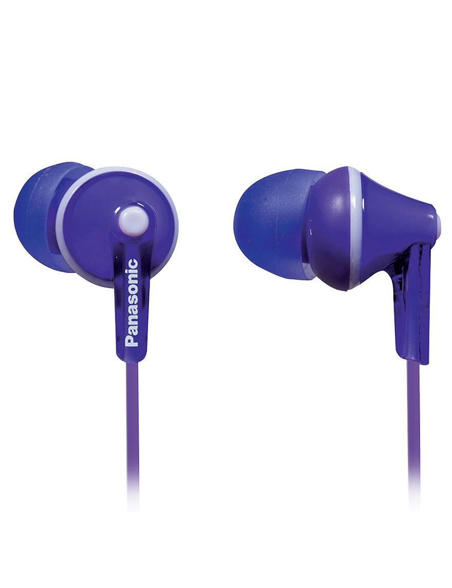 Panasonic Purple Home & Portable Audio