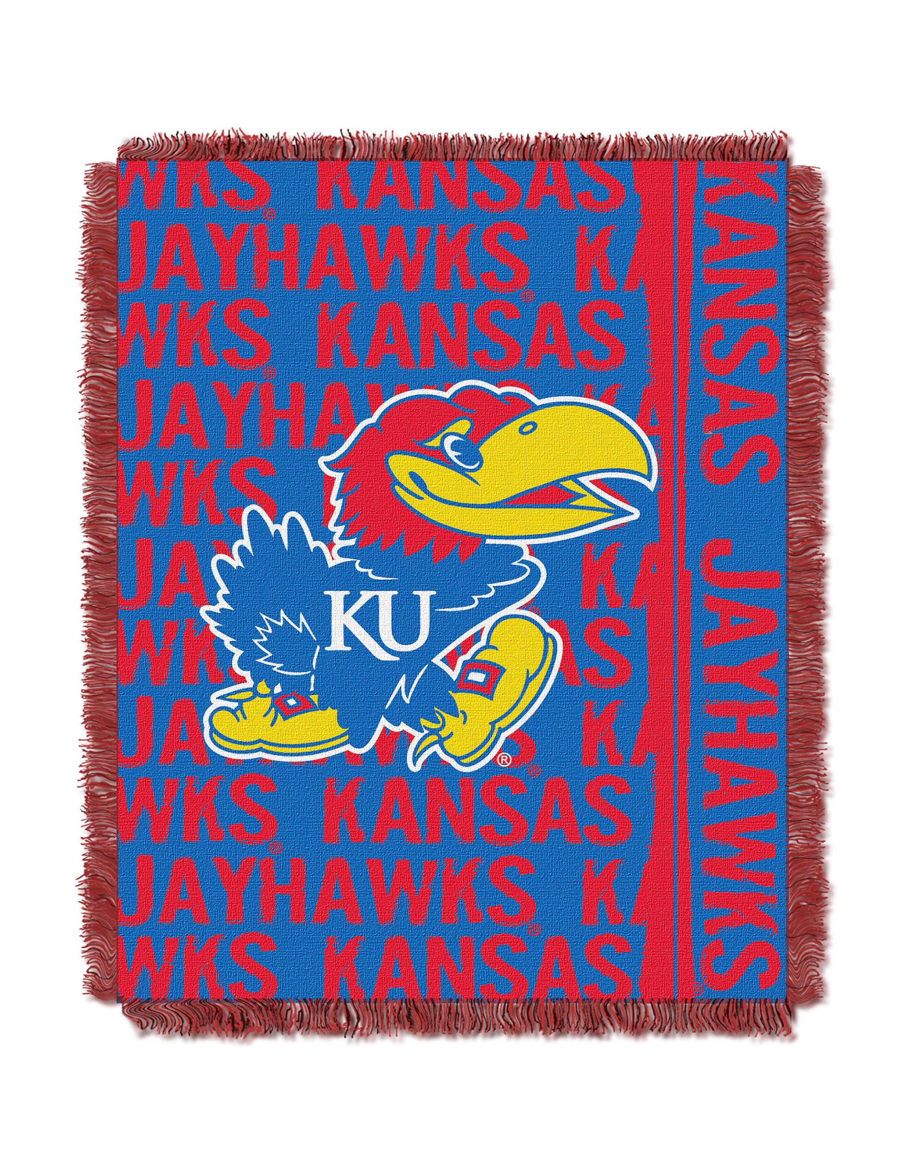 Kansas State University Double Play Jacquard Throw Stage