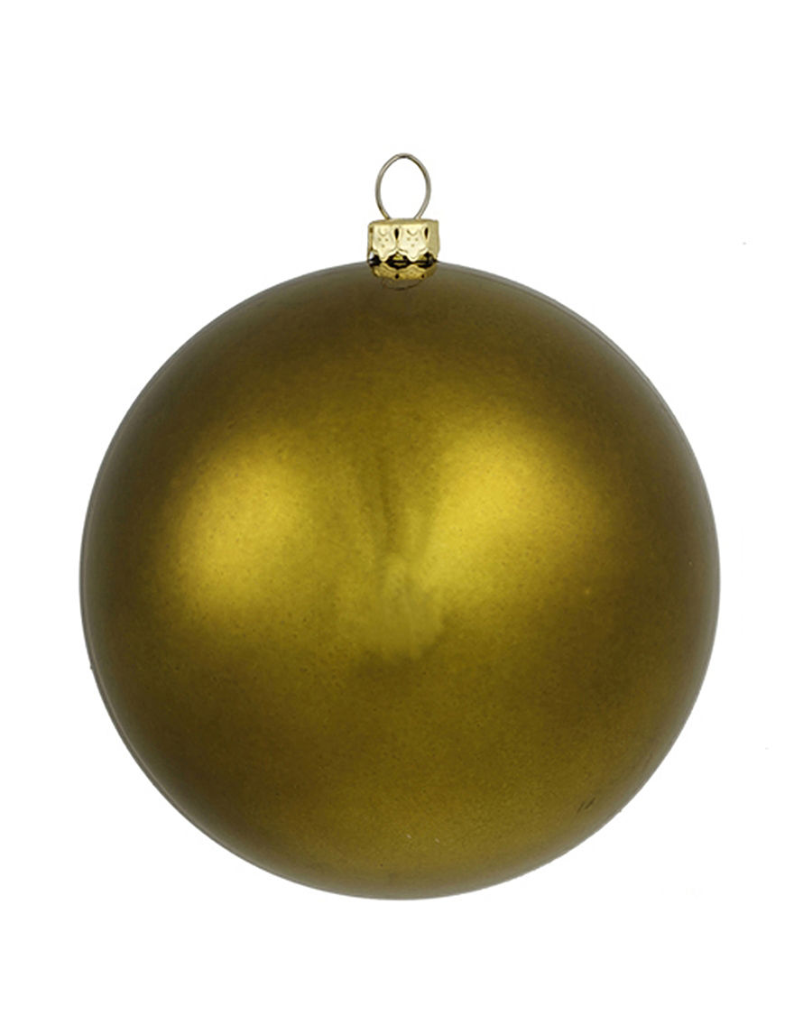Christmas Central Olive Ornaments Holiday Decor