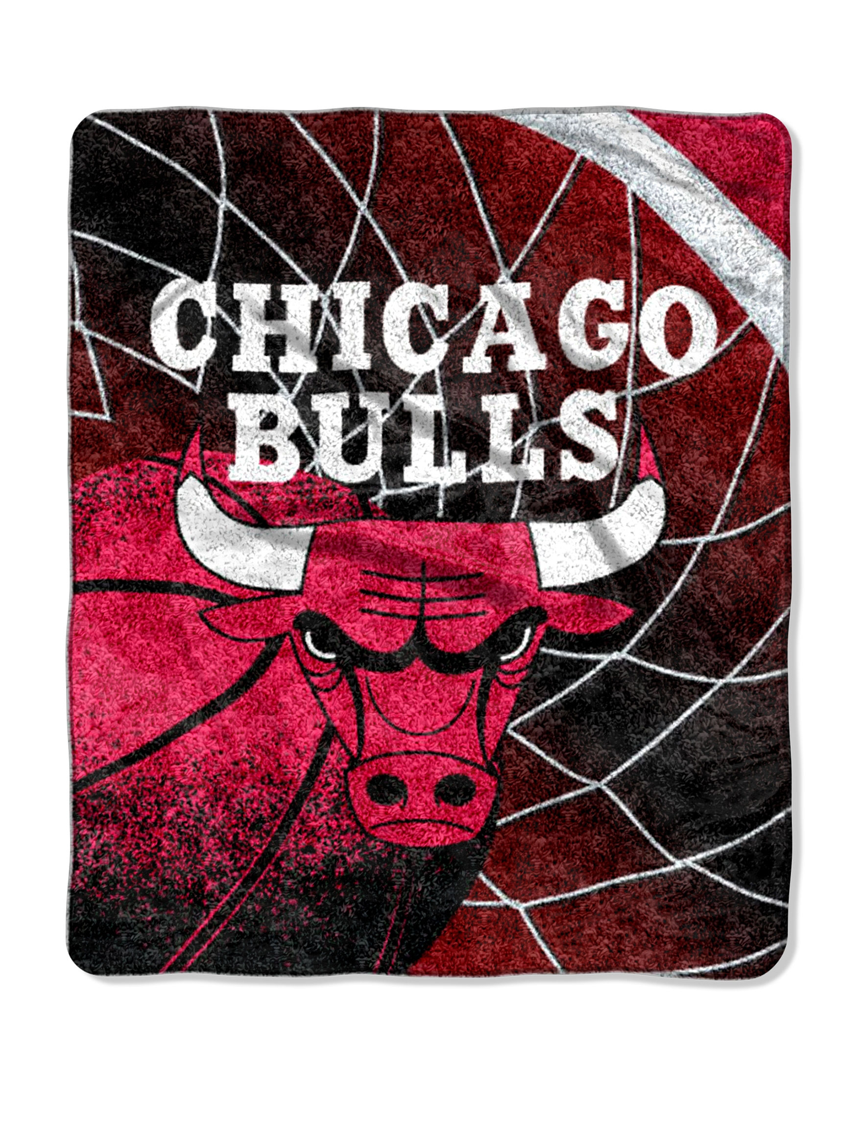 Chicago Bulls Sherpa Fleece Throw Stage Stores