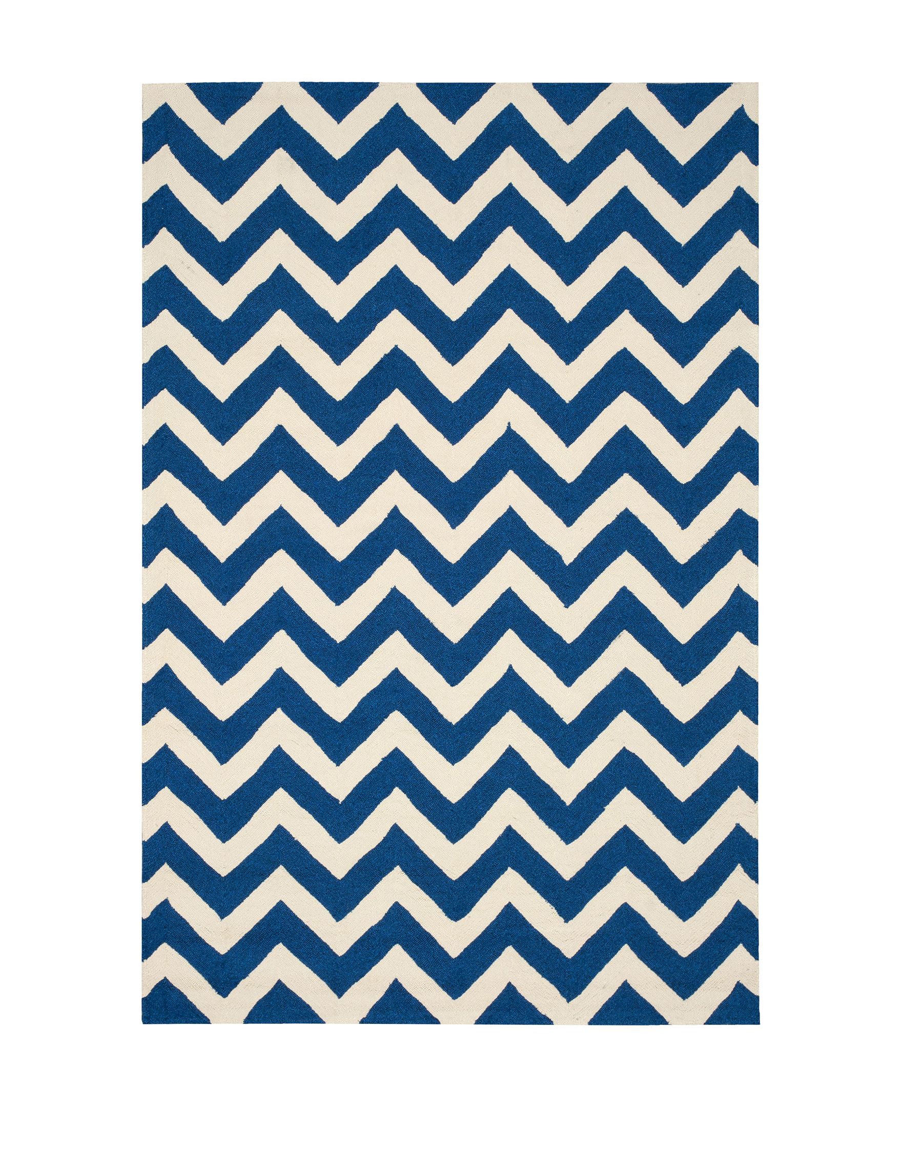 Nourison Navy Outdoor Rugs & Doormats Outdoor Decor