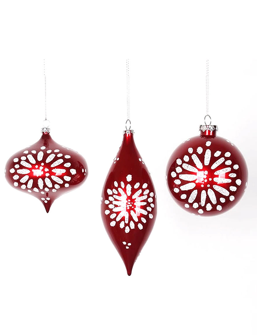 Christmas Central Multi Ornaments Holiday Decor