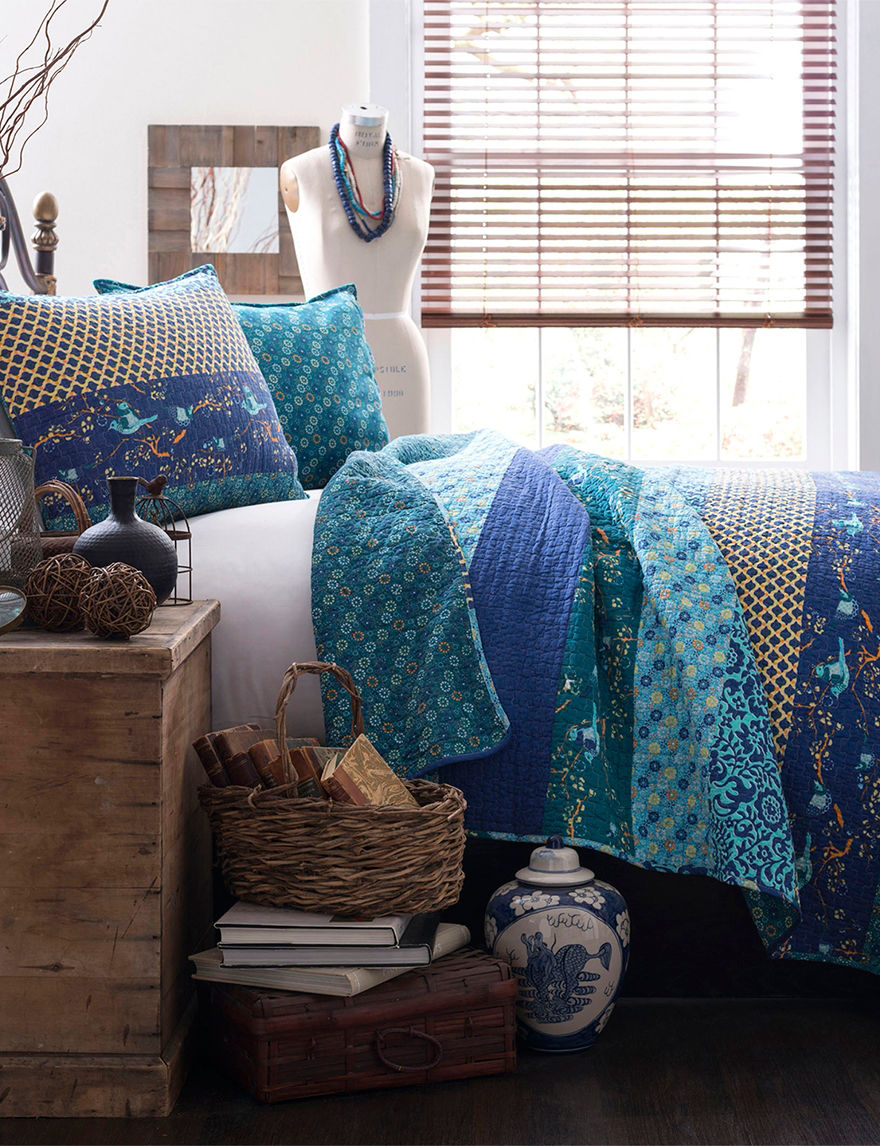 Lush Decor Peacock Quilts & Quilt Sets