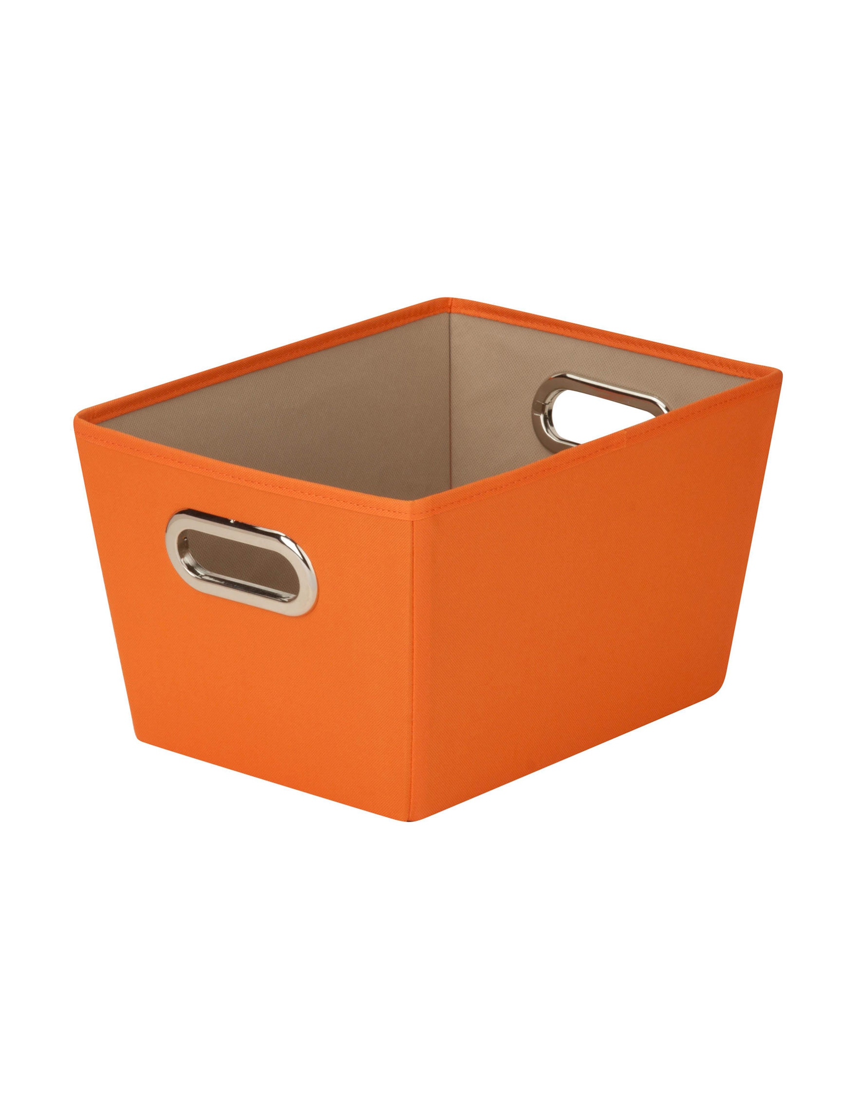 Honey-Can-Do International Orange Cubbies & Cubes Storage Bags & Boxes Storage & Organization