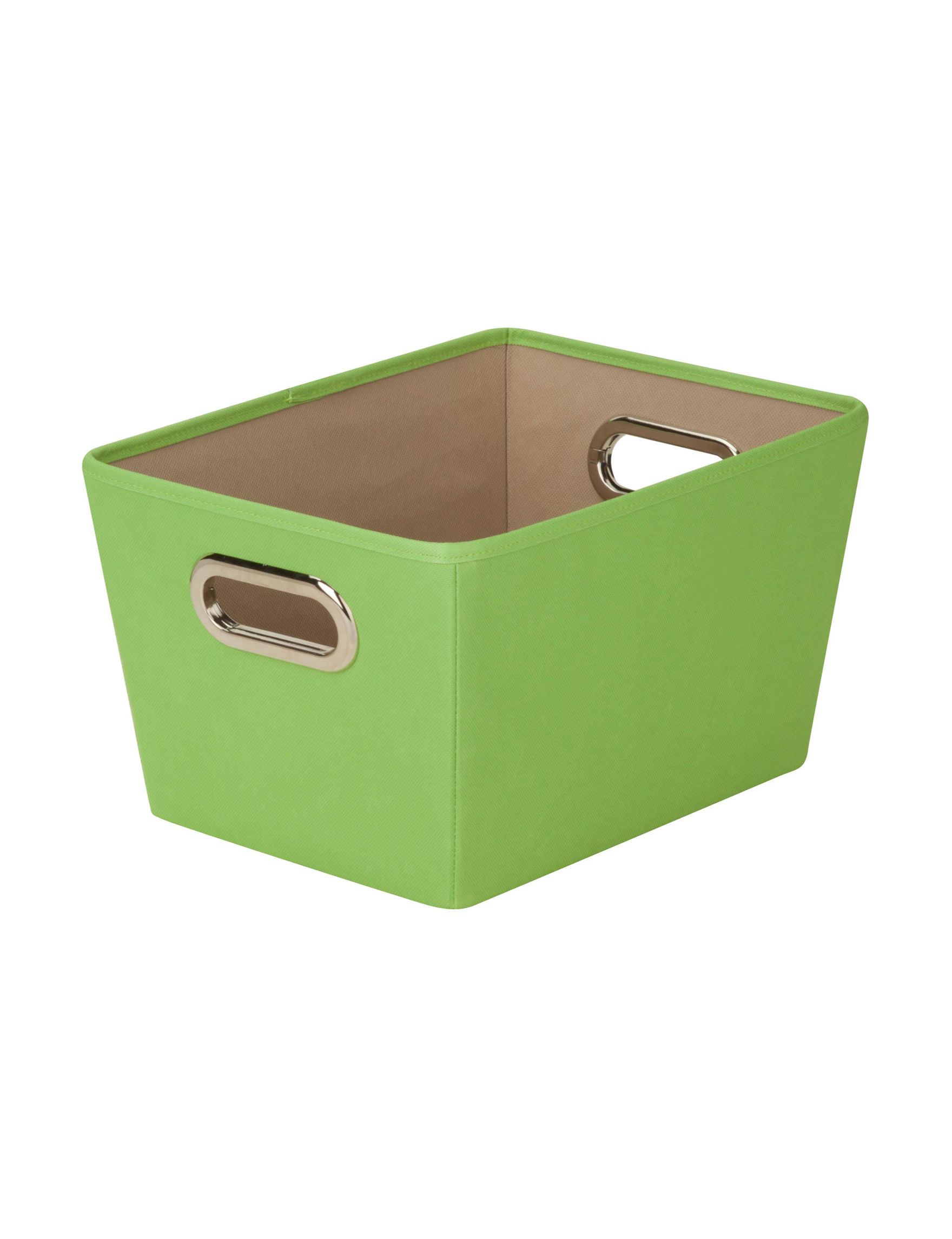 Honey-Can-Do International Green Cubbies & Cubes Storage Bags & Boxes Storage & Organization