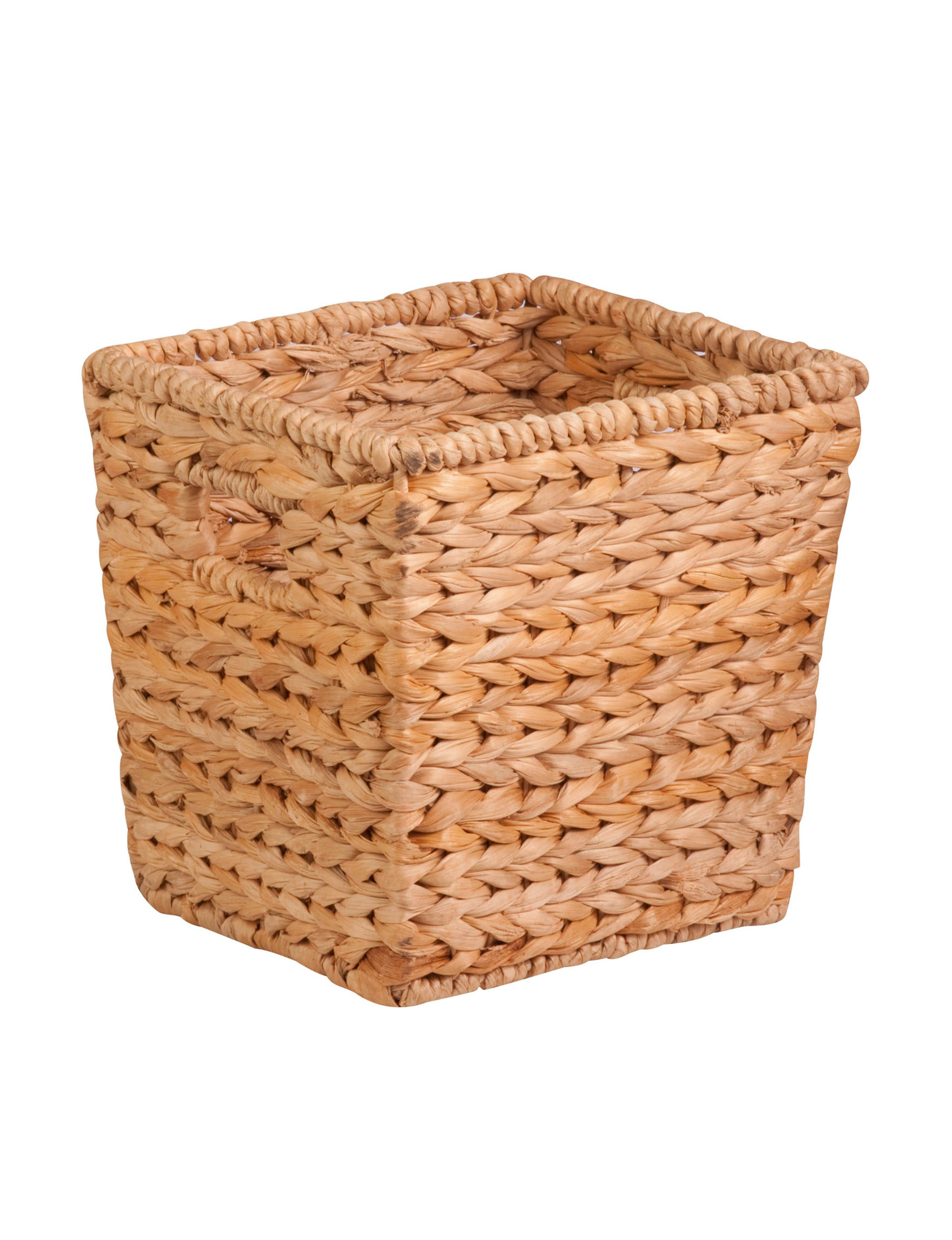Honey-Can-Do International Brown Storage Bags & Boxes Storage & Organization
