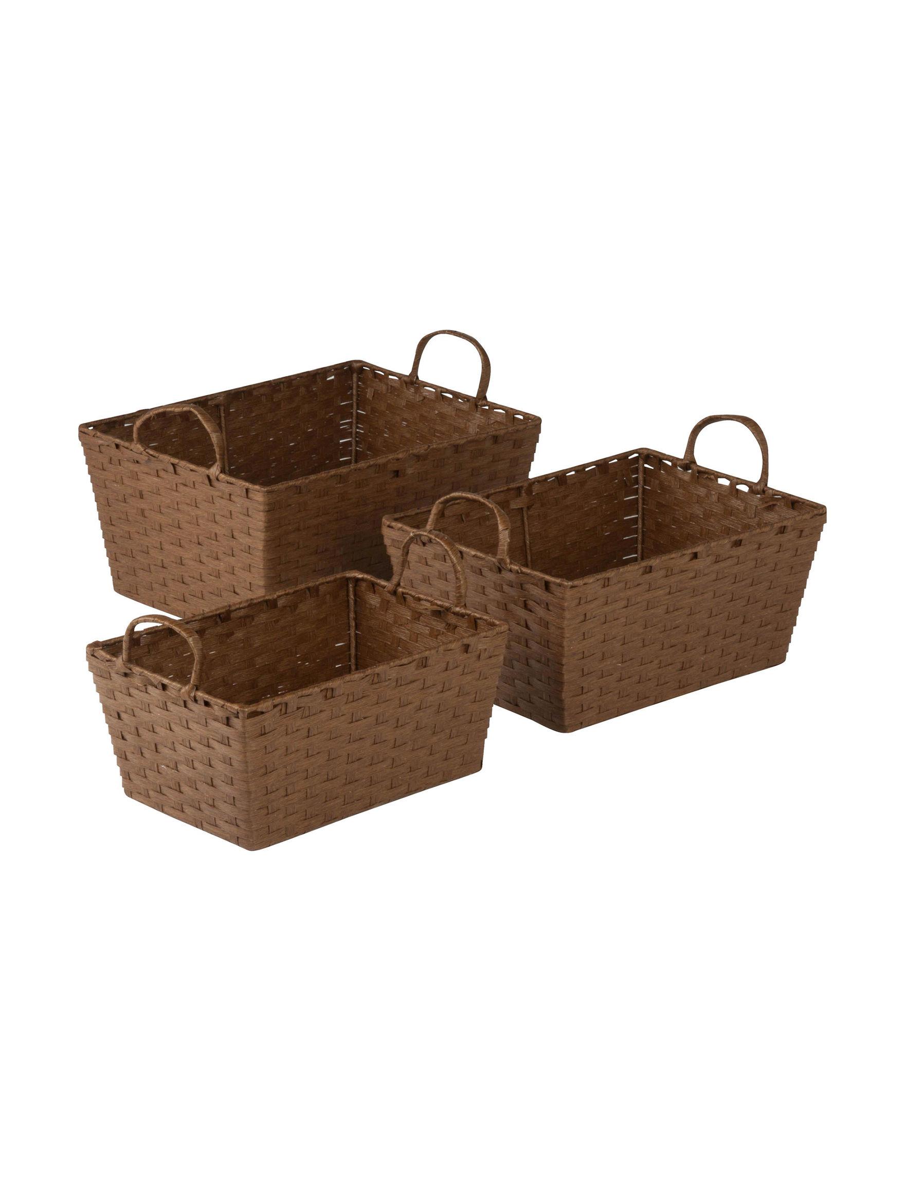 Honey-Can-Do International Brown Storage & Organization