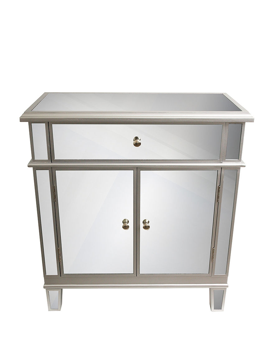 Decor Therapy Silver Dressers & Chests Living Room Furniture