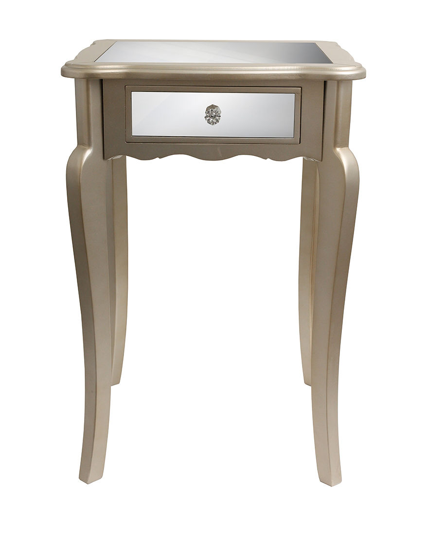Decor Therapy Silver Accent & End Tables Living Room Furniture
