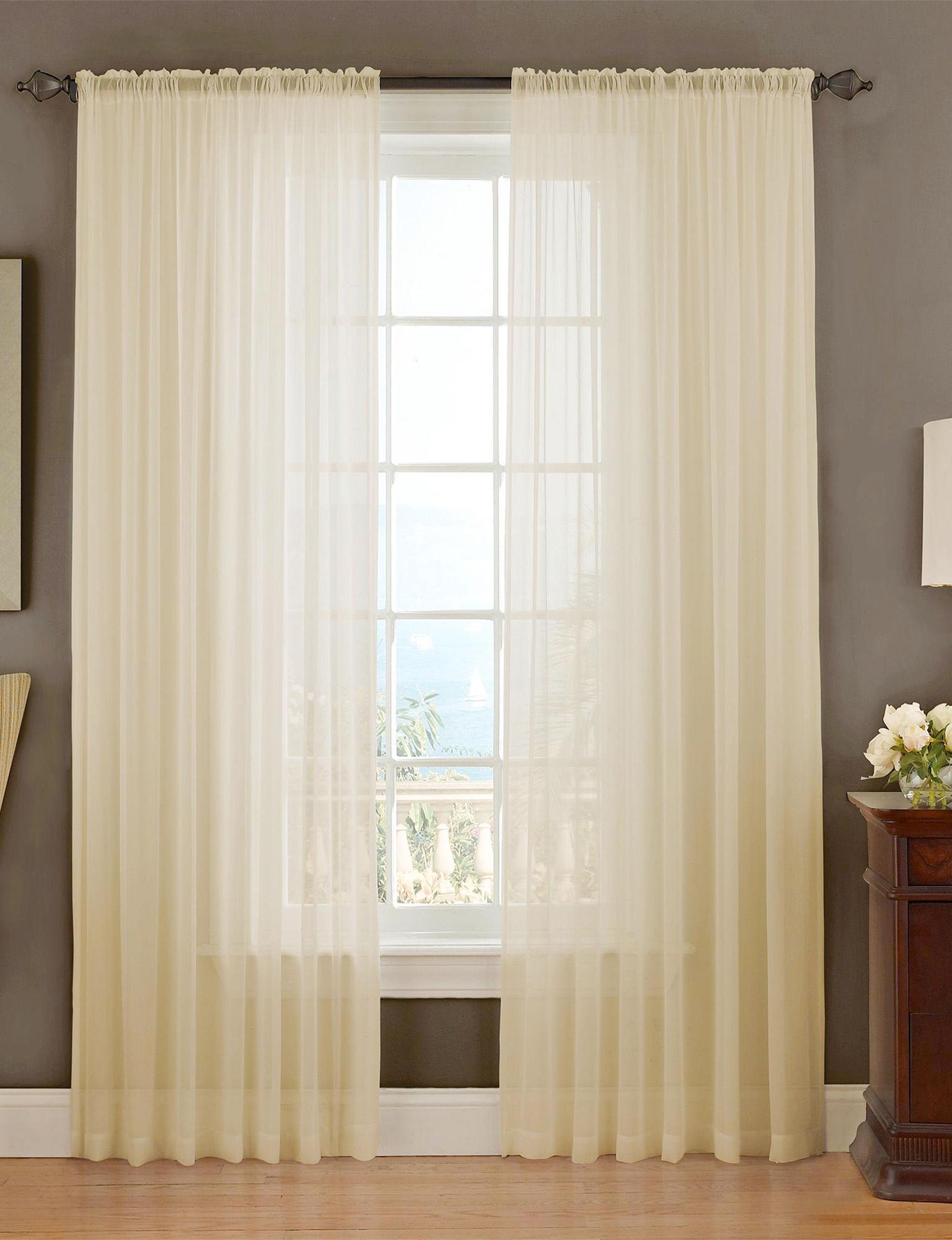 Ellery White Curtains & Drapes Window Treatments