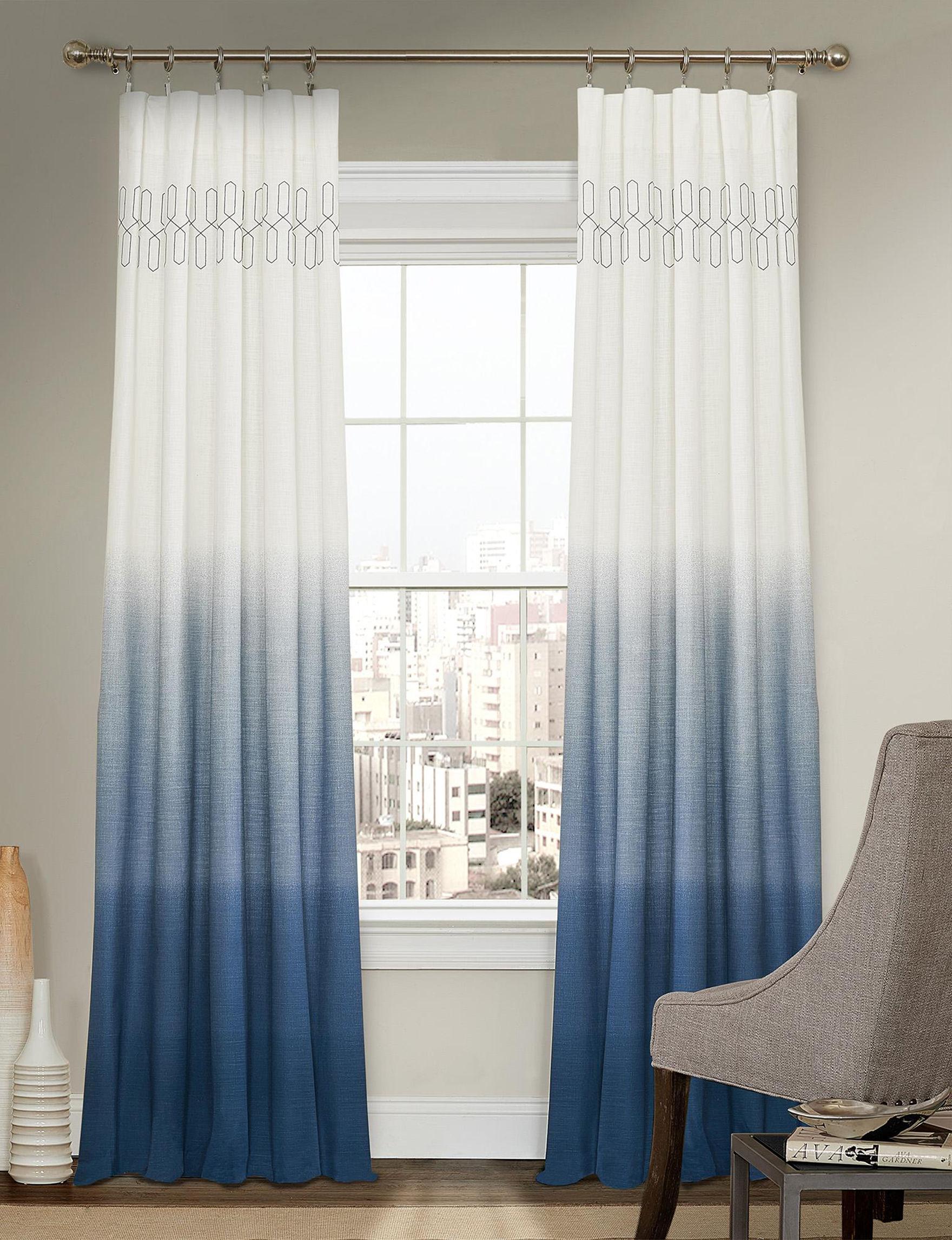 Ellery Indigo Window Treatments