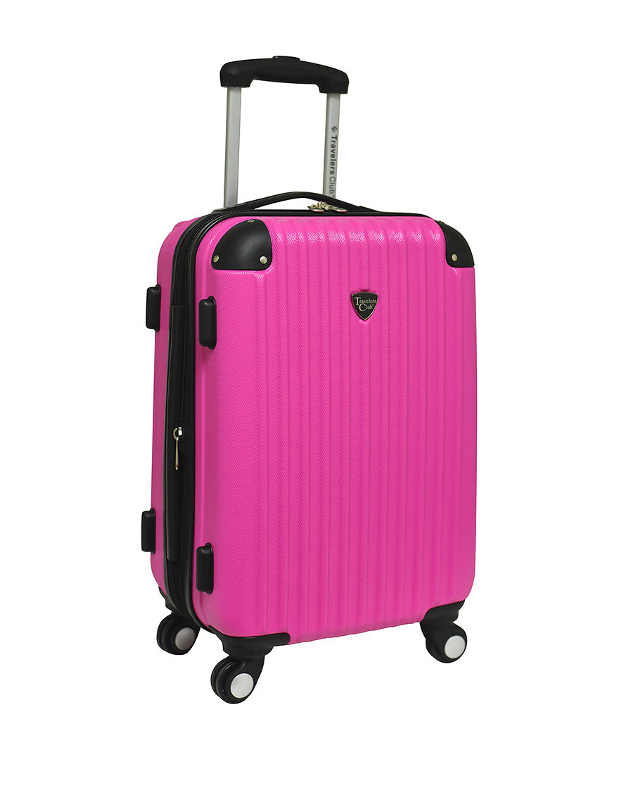 TCL Pink Travel Accessories Upright Spinners