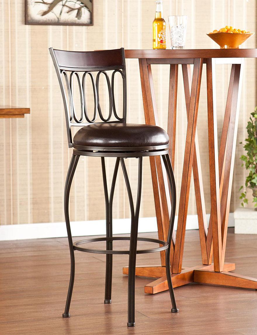 Southern Enterprises Champagne Bar & Kitchen Stools Kitchen & Dining Furniture
