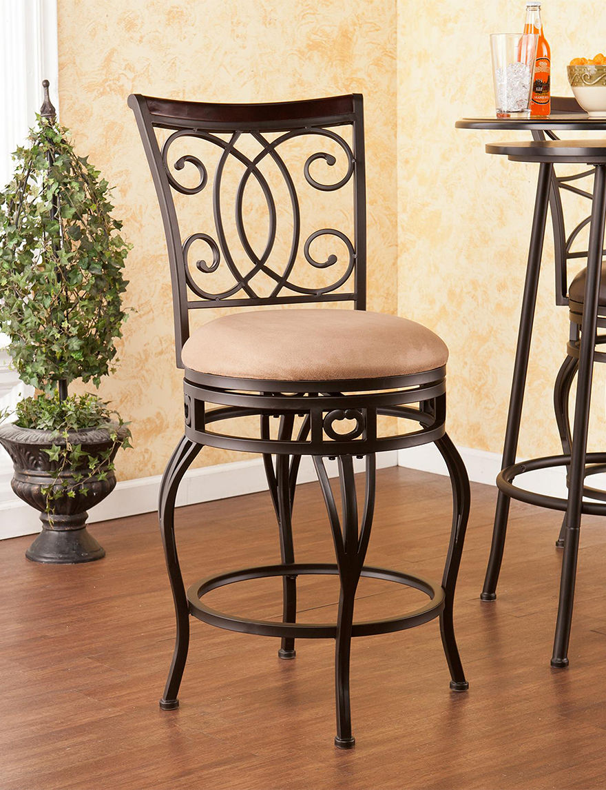 Southern Enterprises Maguire Swivel Counter Stool Stage