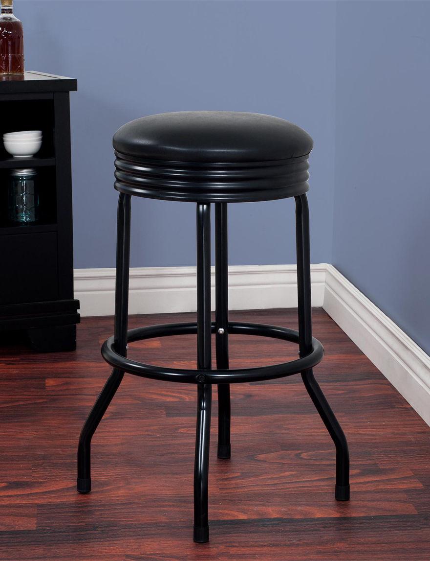 Lavish Home Black Kitchen & Dining Furniture