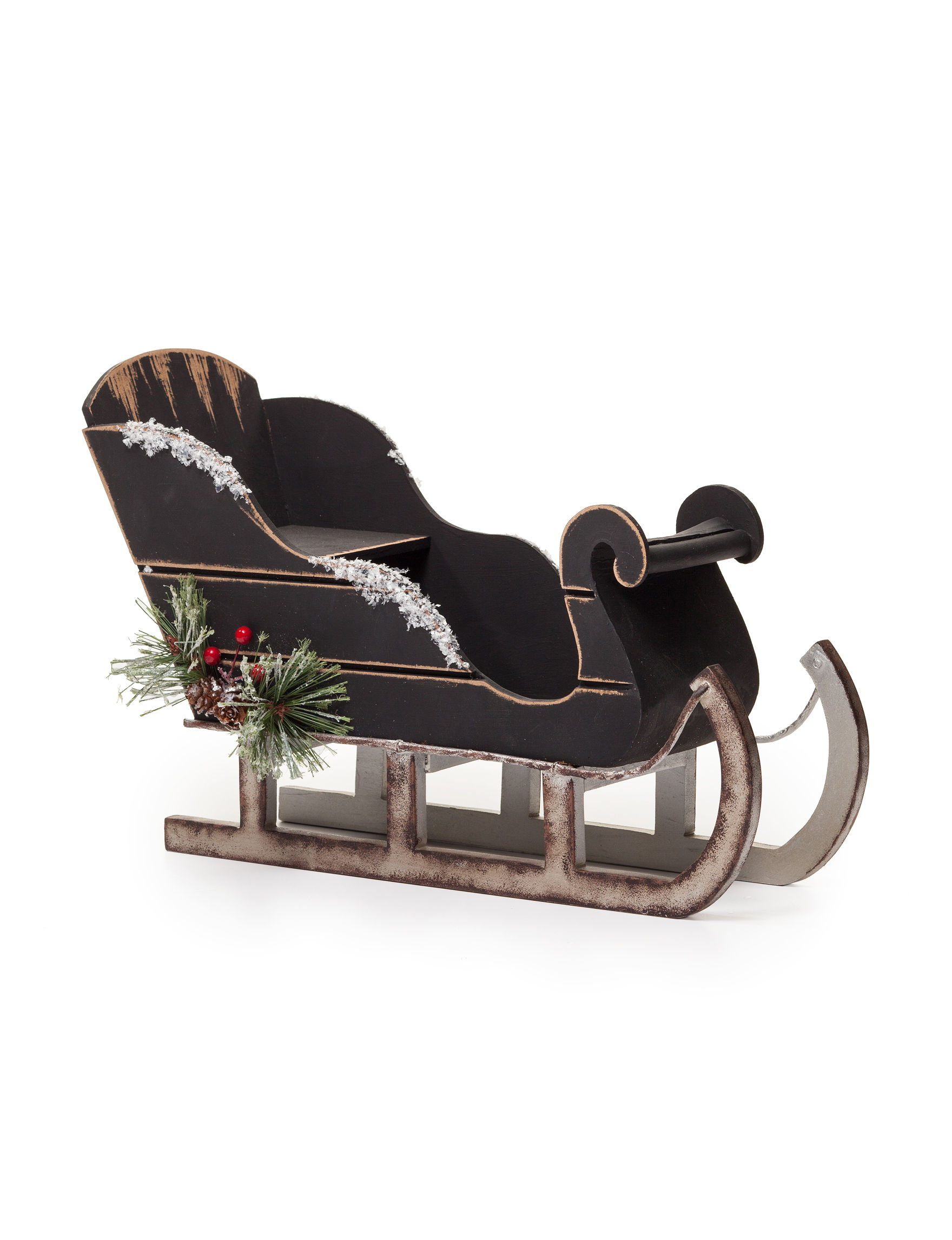 Jingle Bell Lane Black Home Accents