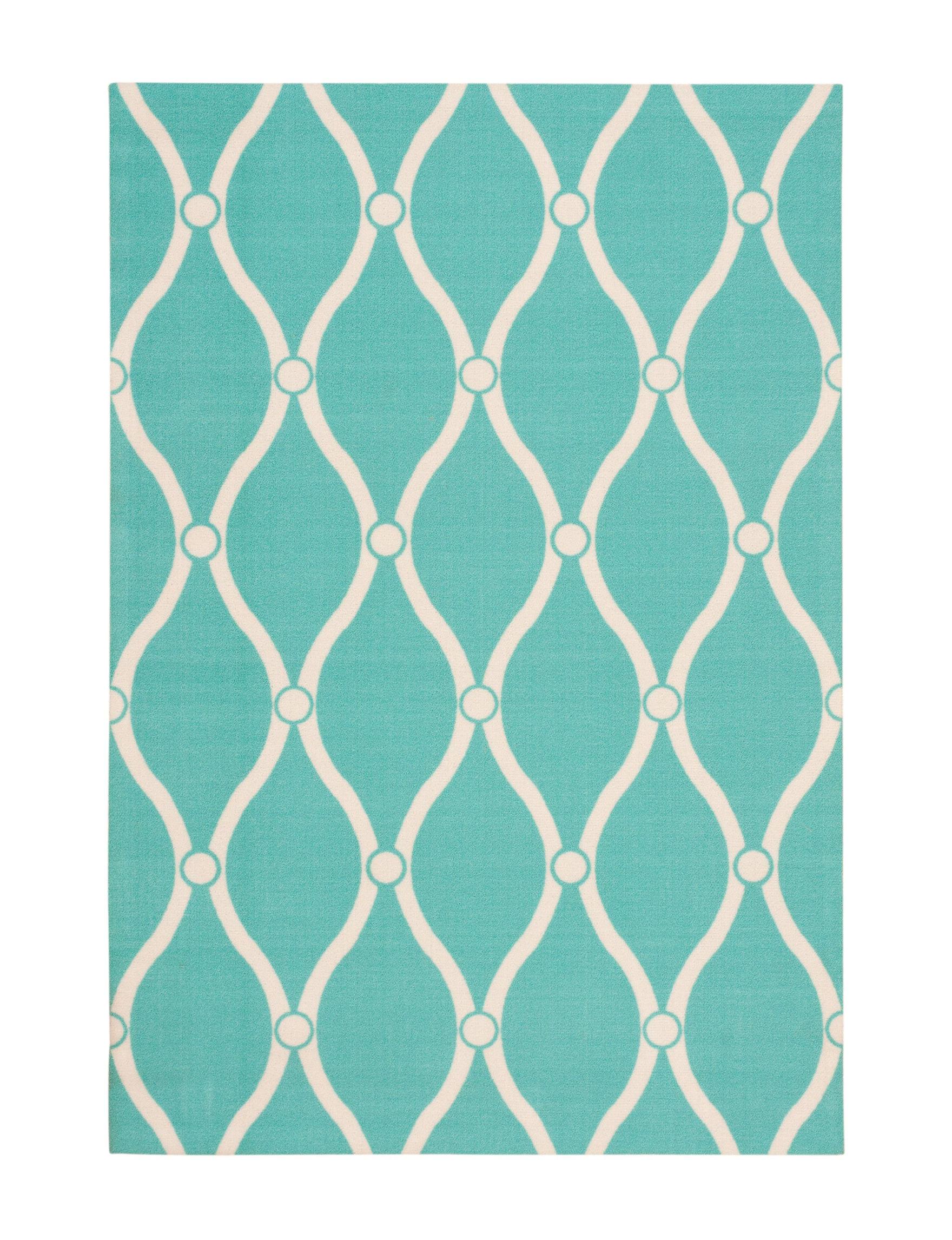 Nourison Aqua Accent Rugs Area Rugs Outdoor Rugs & Doormats Outdoor Decor Rugs
