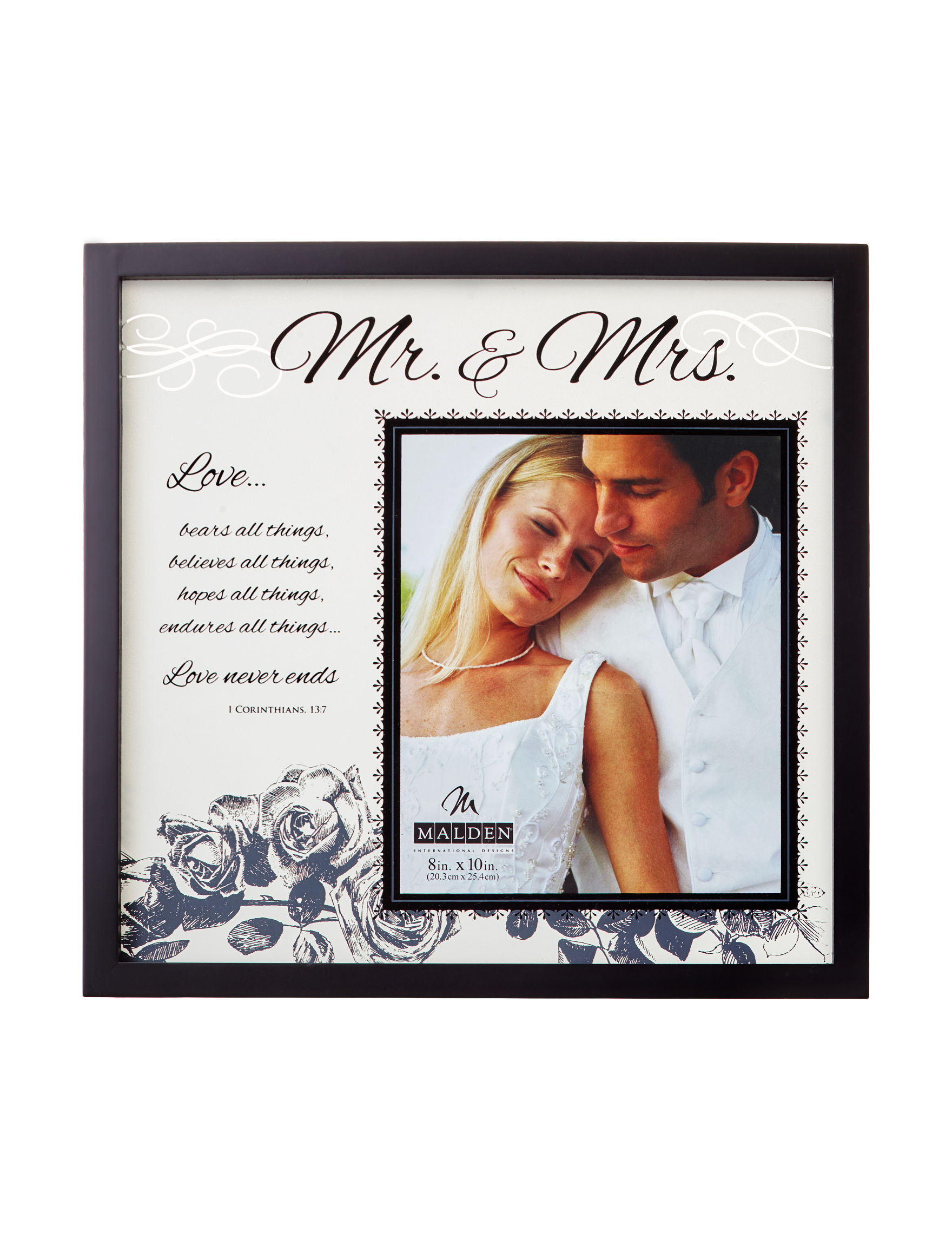 Malden Black Wall Art Frames & Shadow Boxes Home Accents