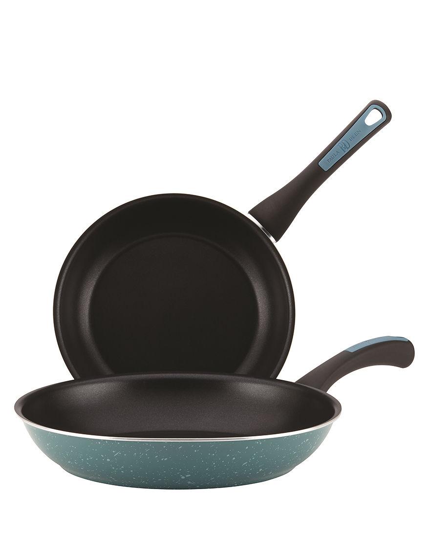 Paula Deen Blue Frying Pans & Skillets Cookware