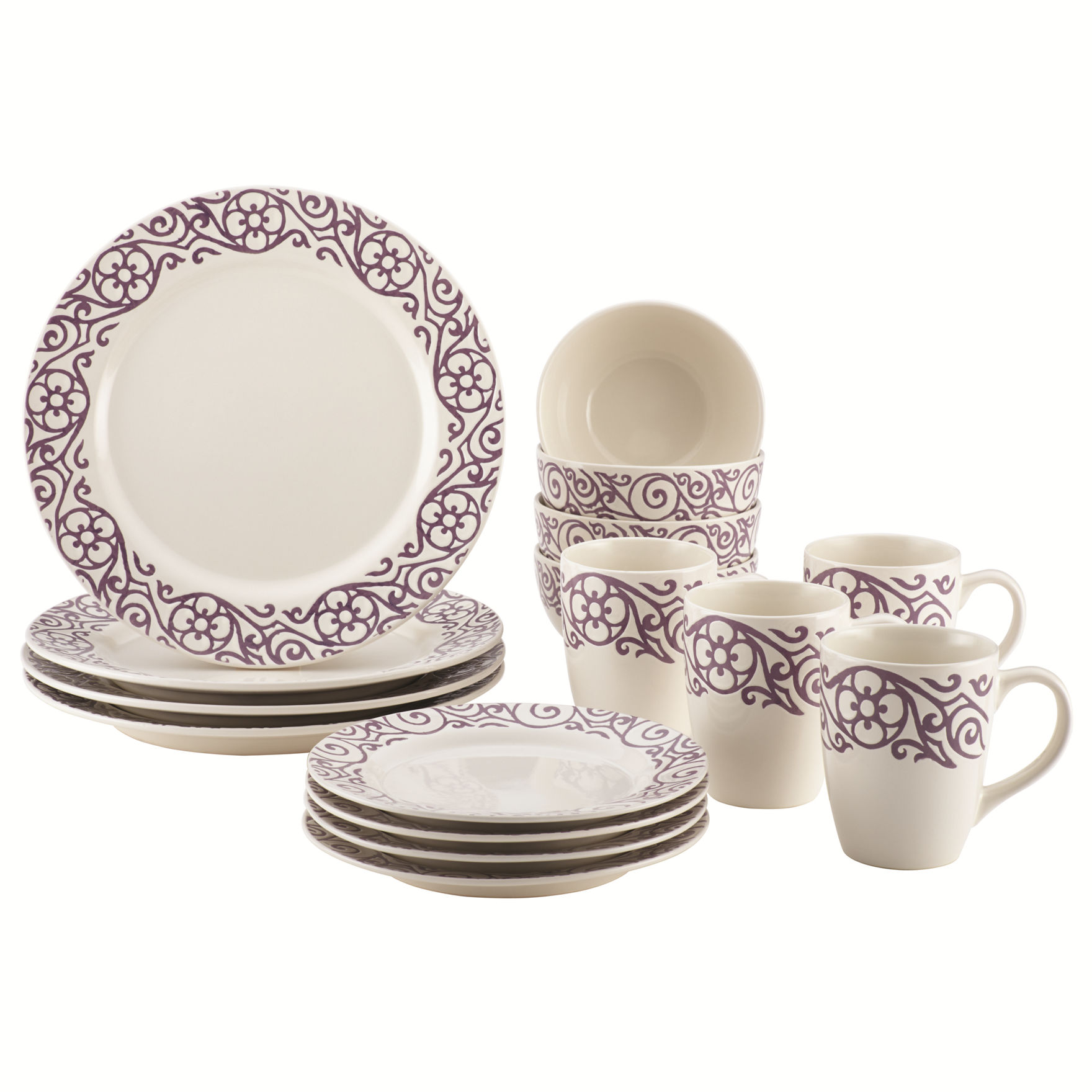 Rachael Ray Lavender Dinnerware Sets Cookware Dinnerware
