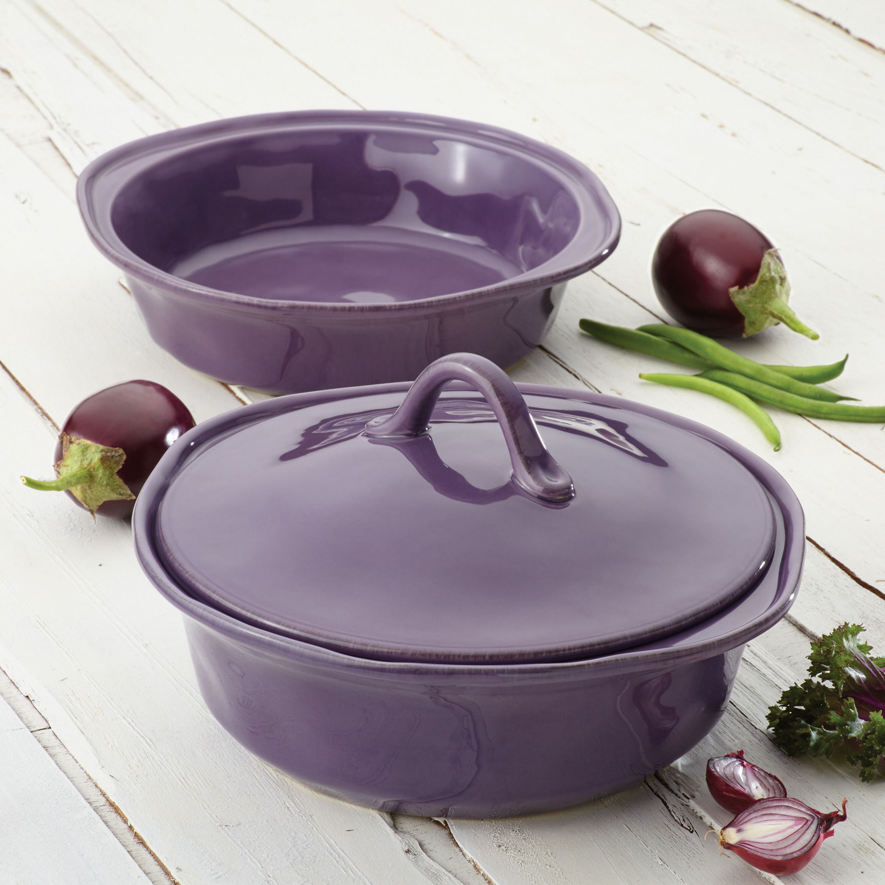 Rachael Ray Lavender Baking & Casserole Dishes Cookware Sets Bakeware