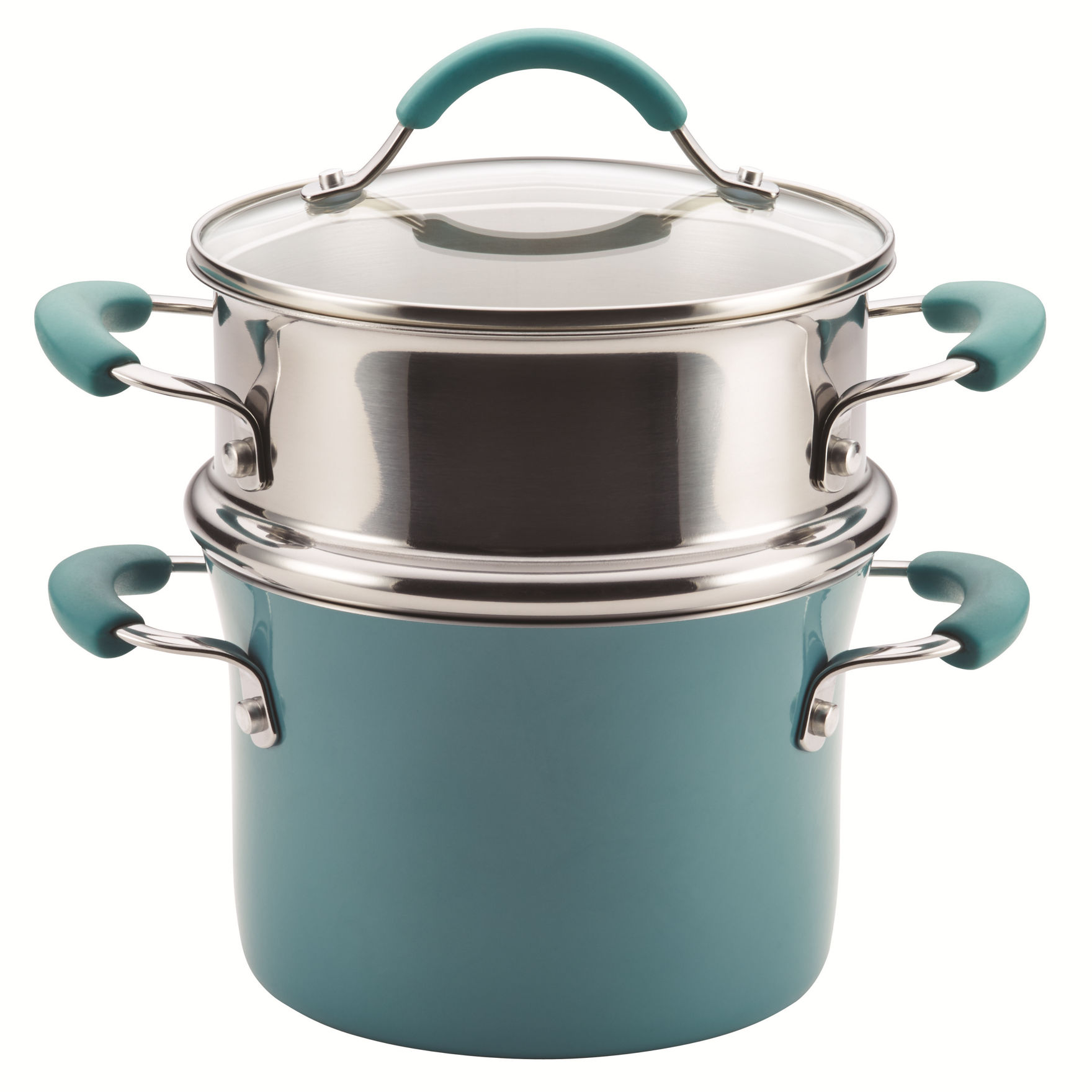Rachael Ray Blue Double Boilers & Steamers Cookware