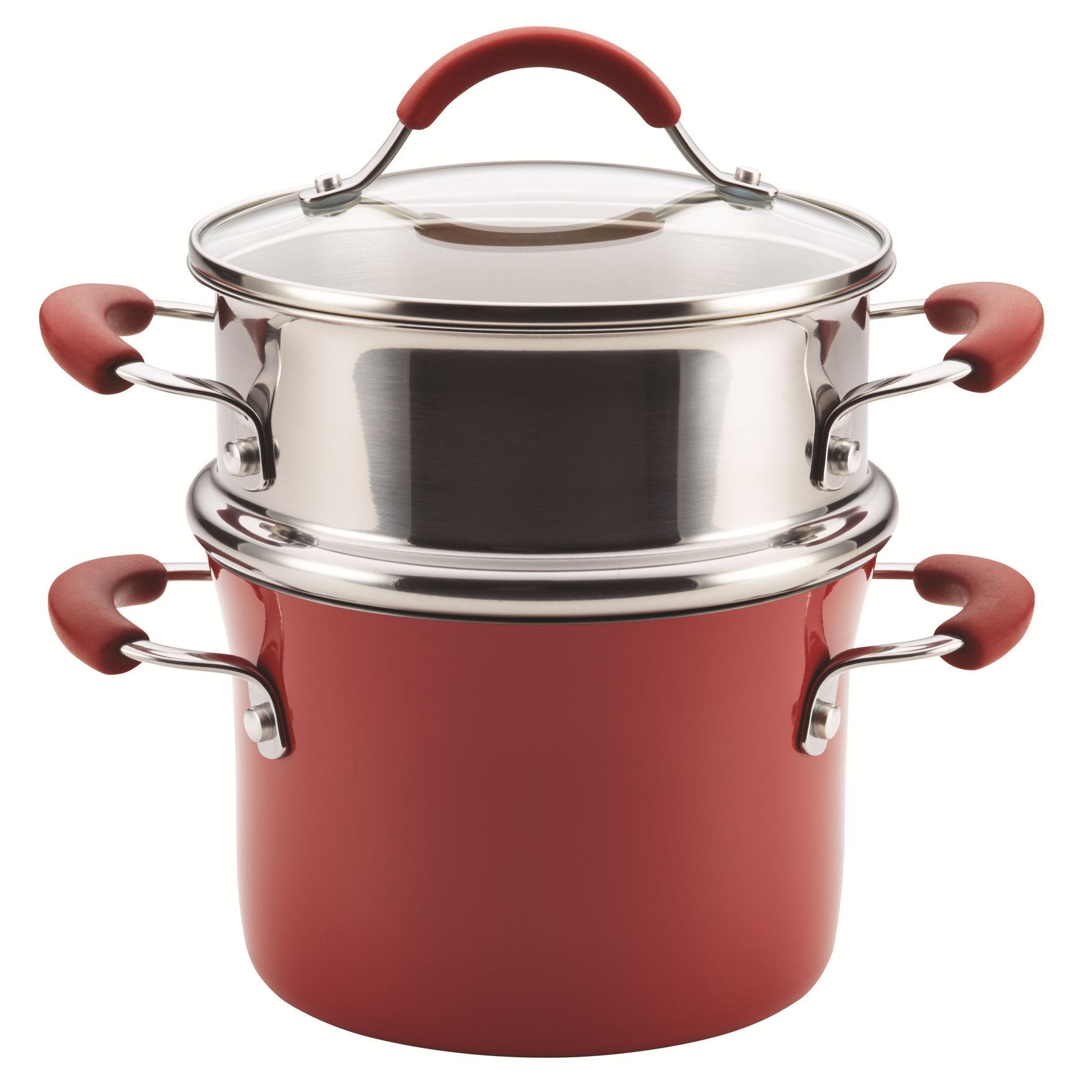 Rachael Ray Cranberry Pots & Dutch Ovens Cookware