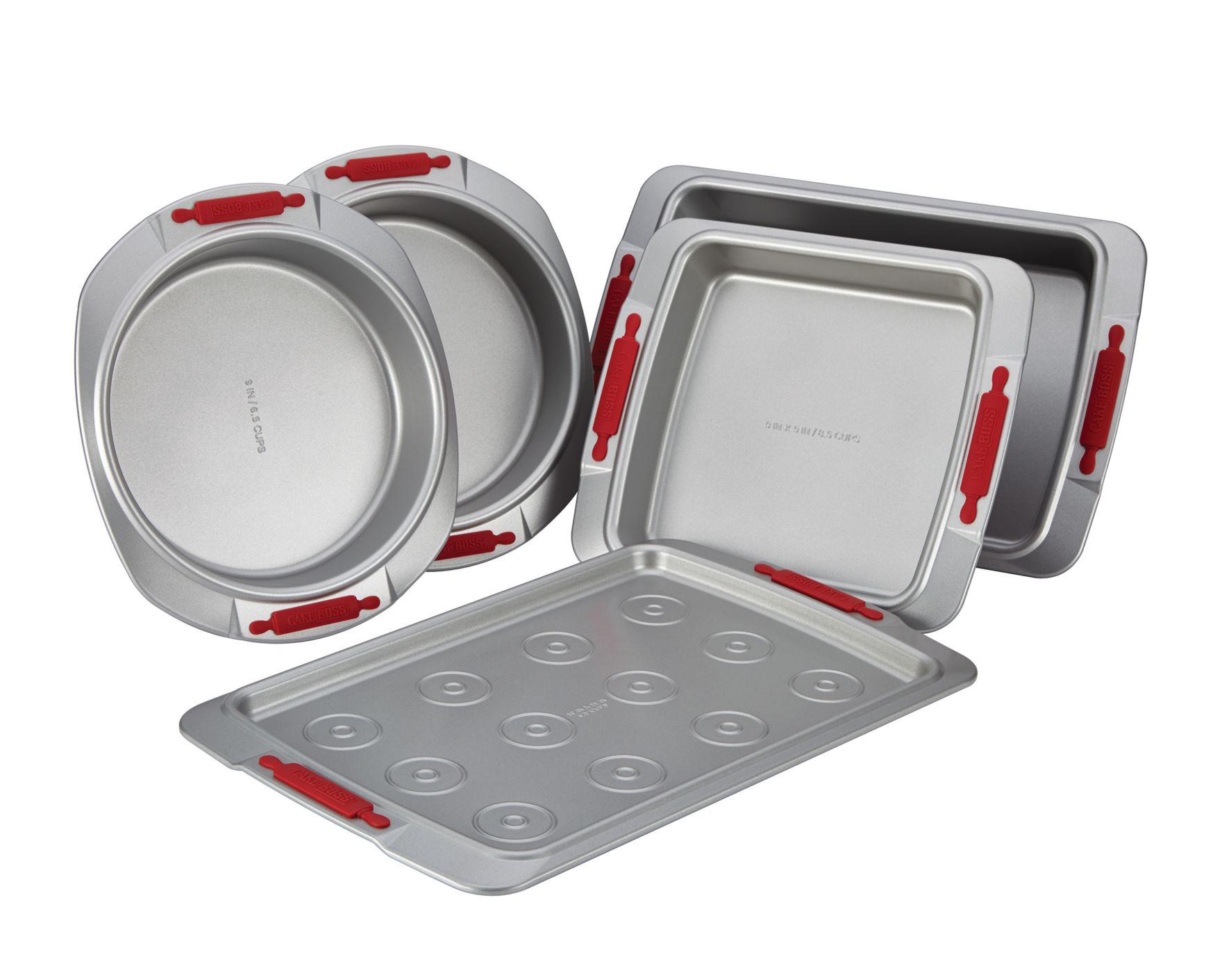 Cake Boss Grey Cookware Sets Cookware