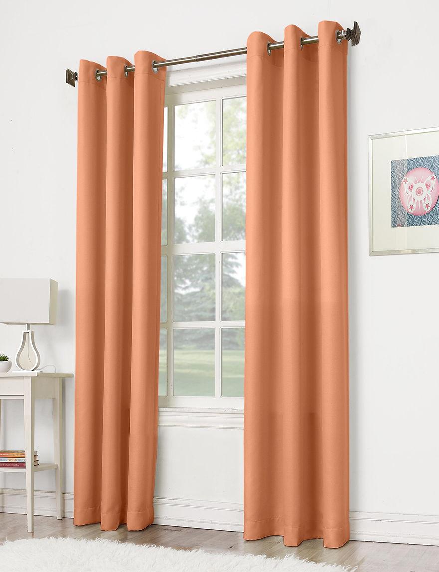 Lichtenberg No 918 Montego Grommet Light Orange Window