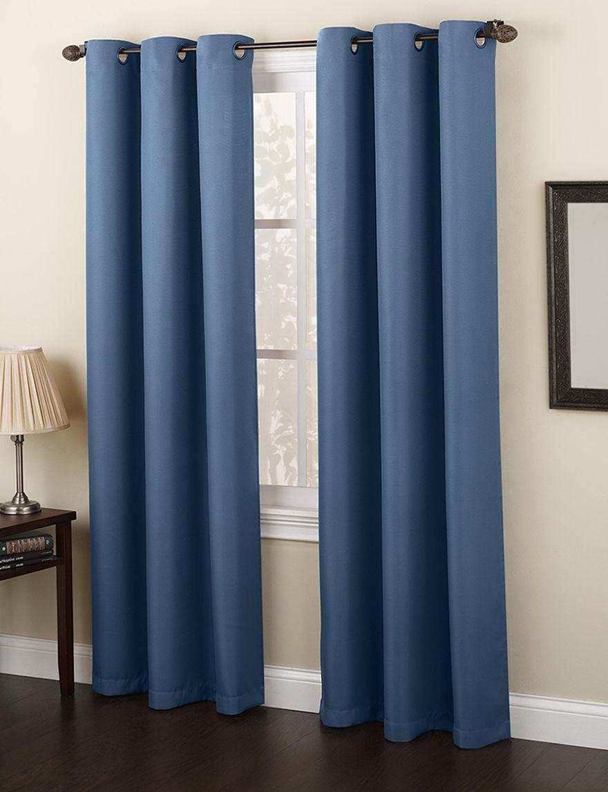 Lichtenberg Blue Curtains & Drapes Window Treatments