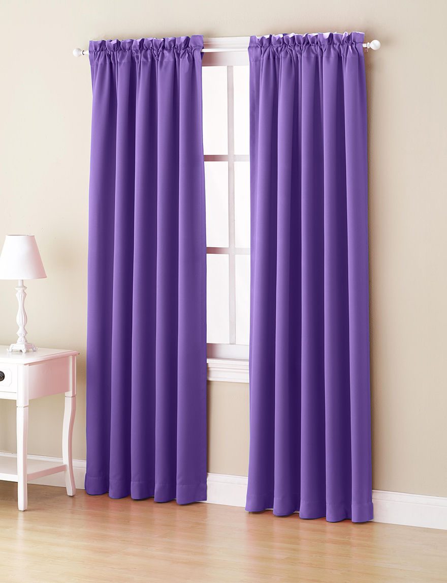 Lichtenberg Purple Curtains & Drapes Window Treatments