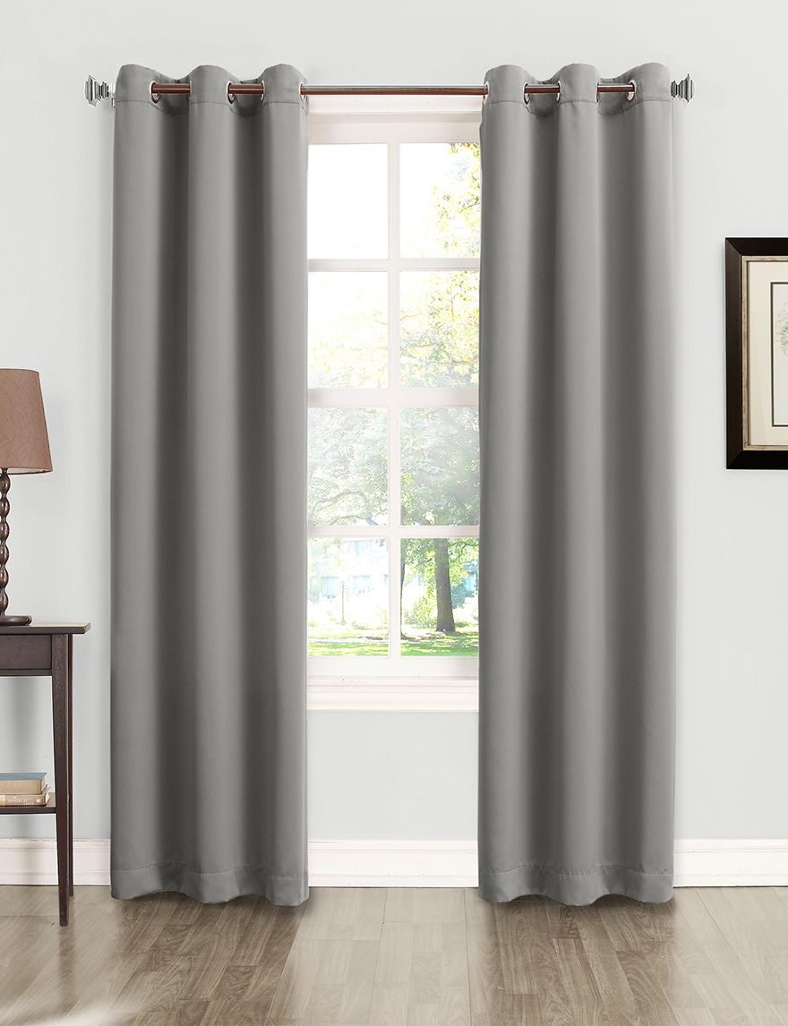 Lichtenberg Grey Curtains & Drapes Window Treatments