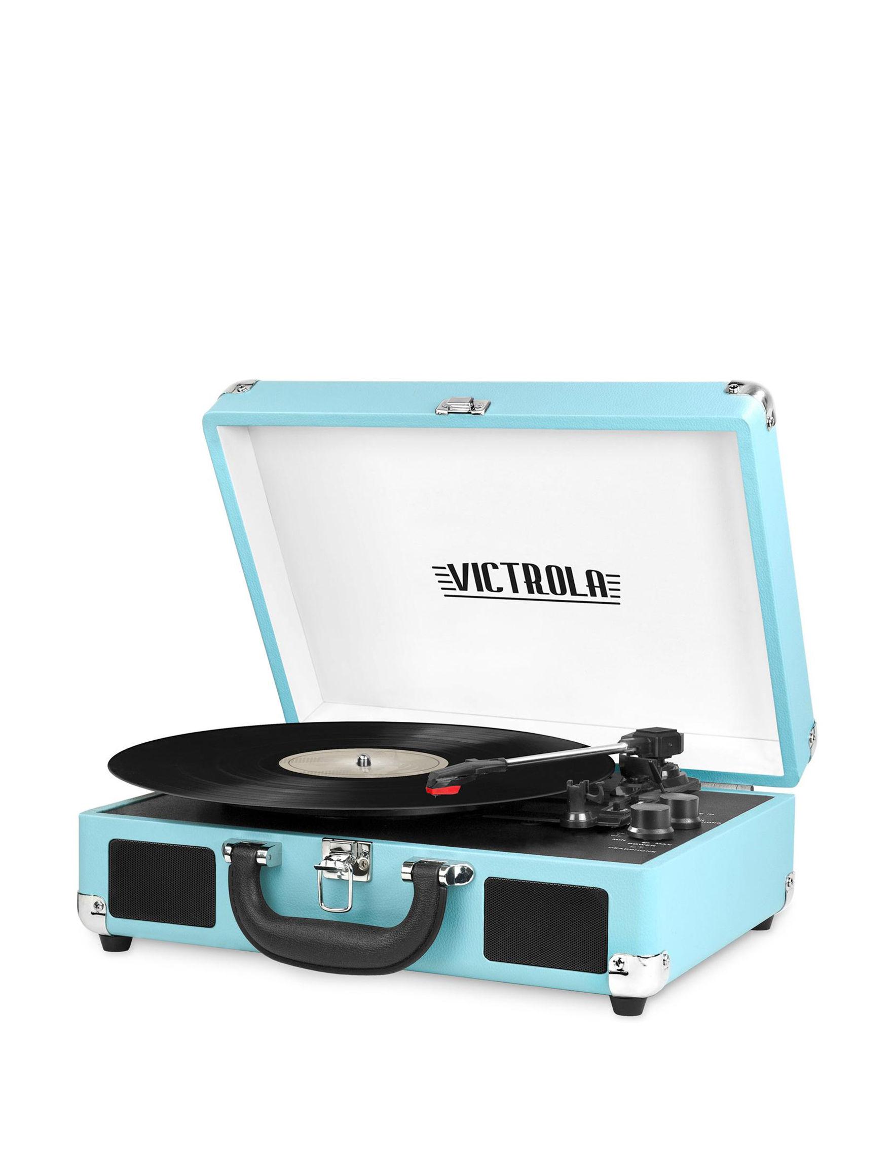 Victrola Turqouise Speakers & Docks Home & Portable Audio
