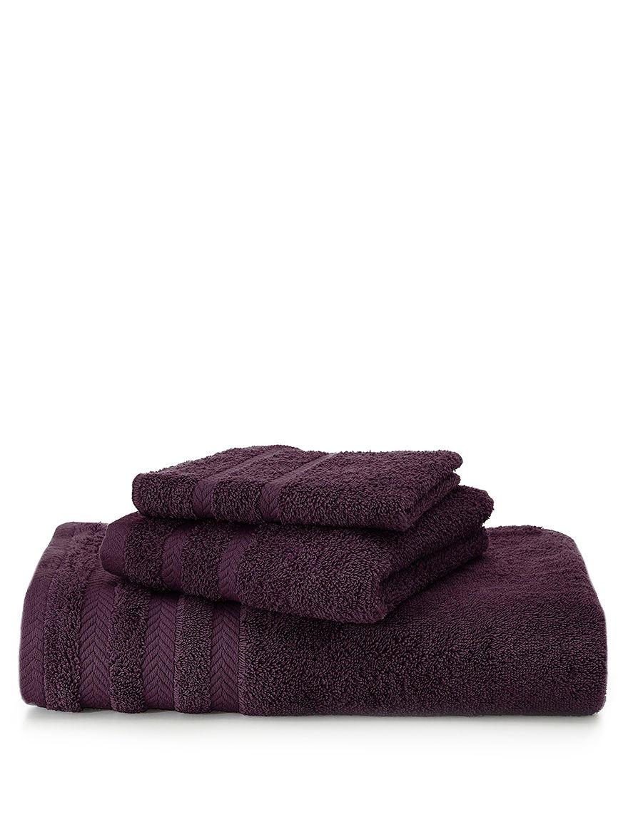 Martex Plum Hand Towels Towels
